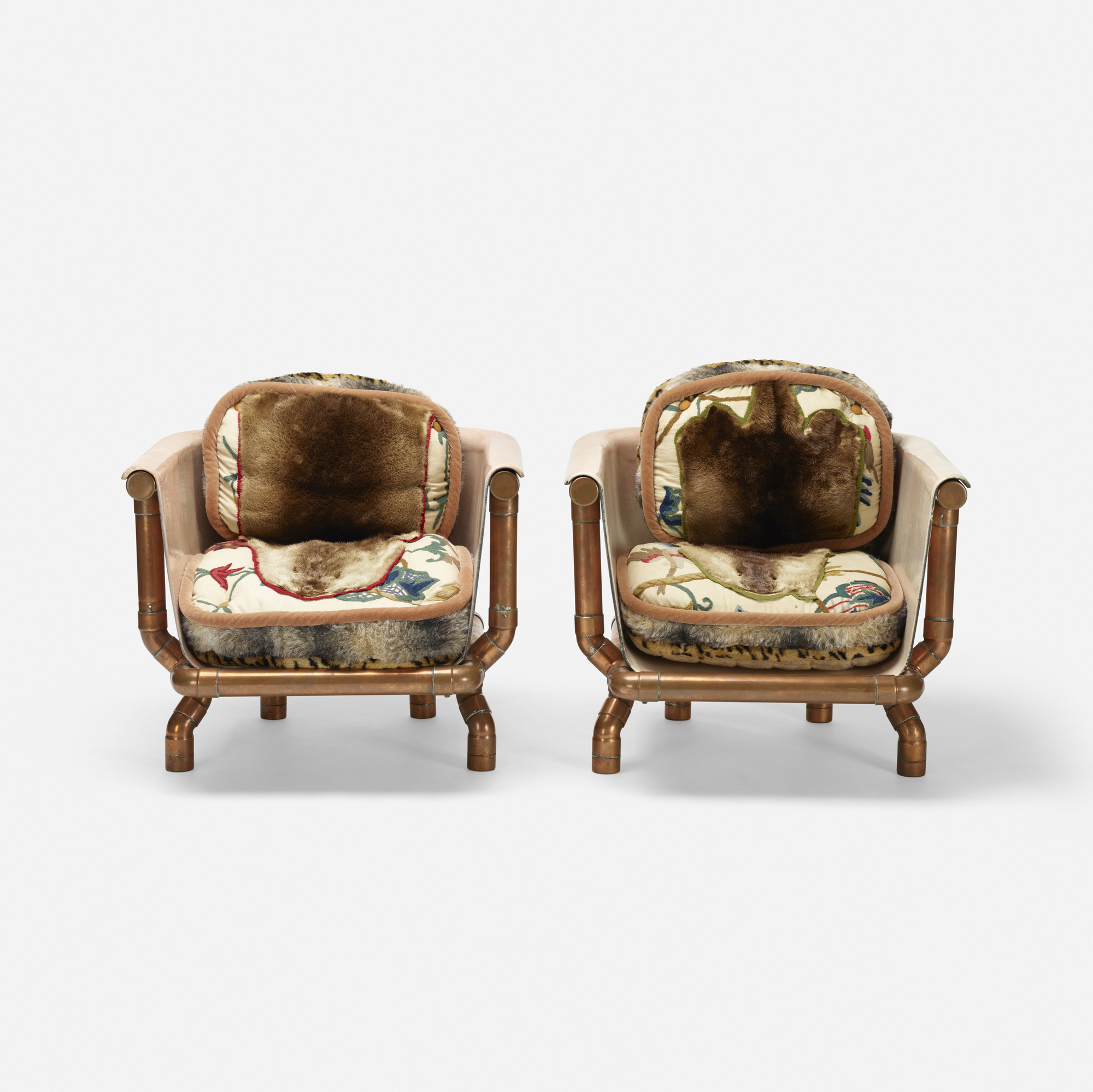 125: Joel Otterson / Endangered Species Chairs, pair (2 of 2)