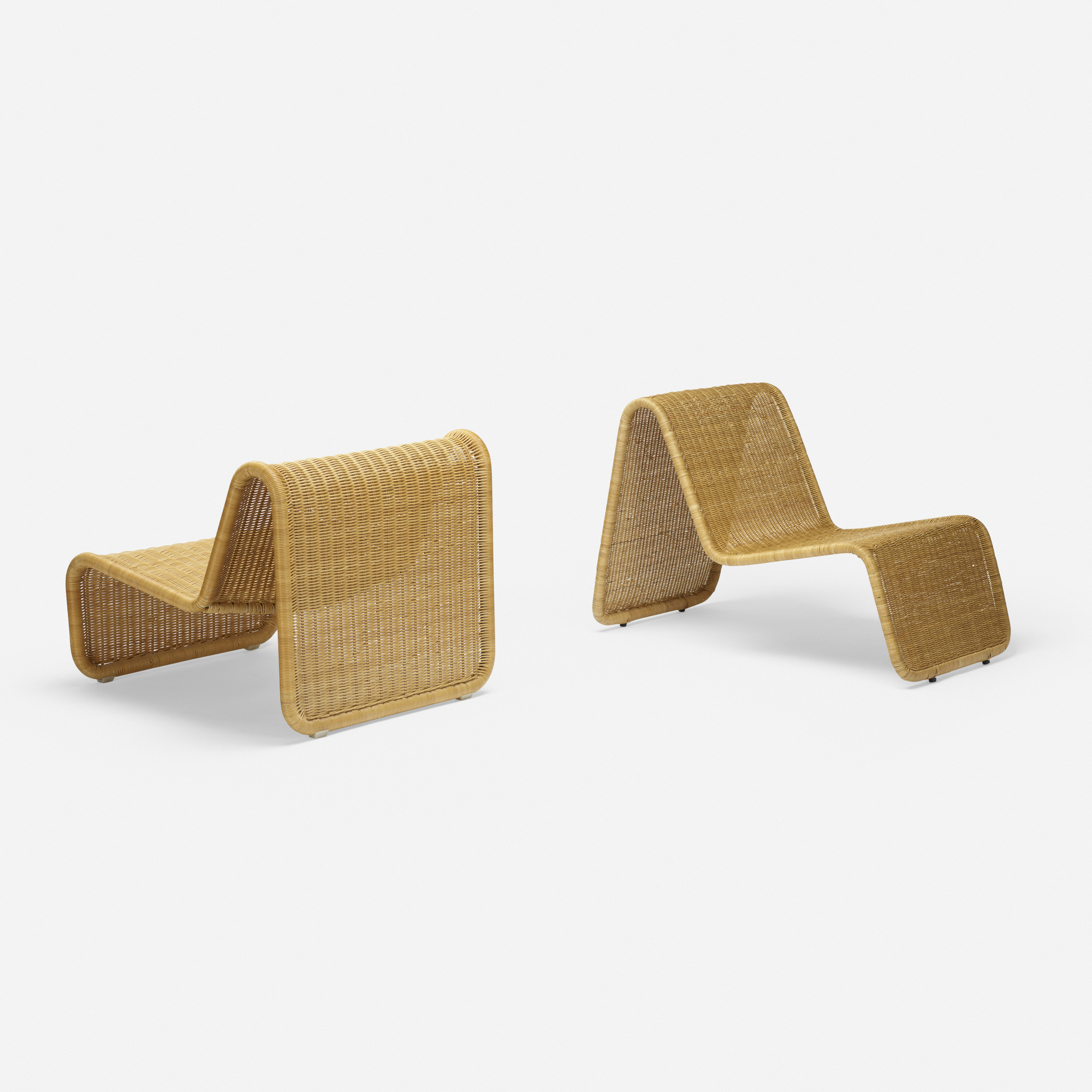 125: Tito Agnoli / P3 lounge chairs, set of two (2 of 2)