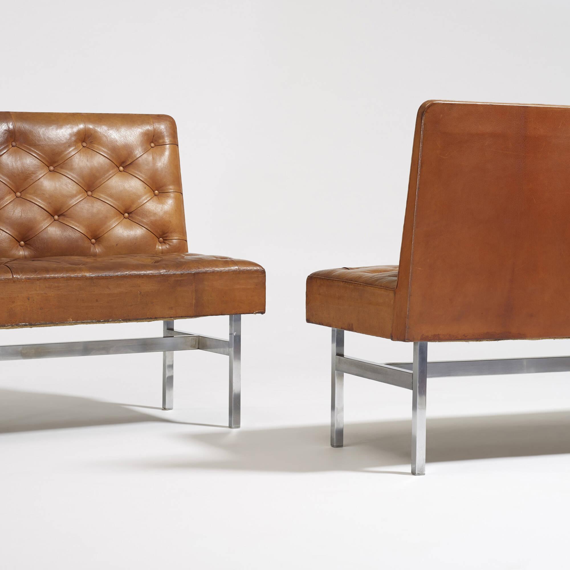 125: Kaare Klint / custom benches, pair (3 of 3)
