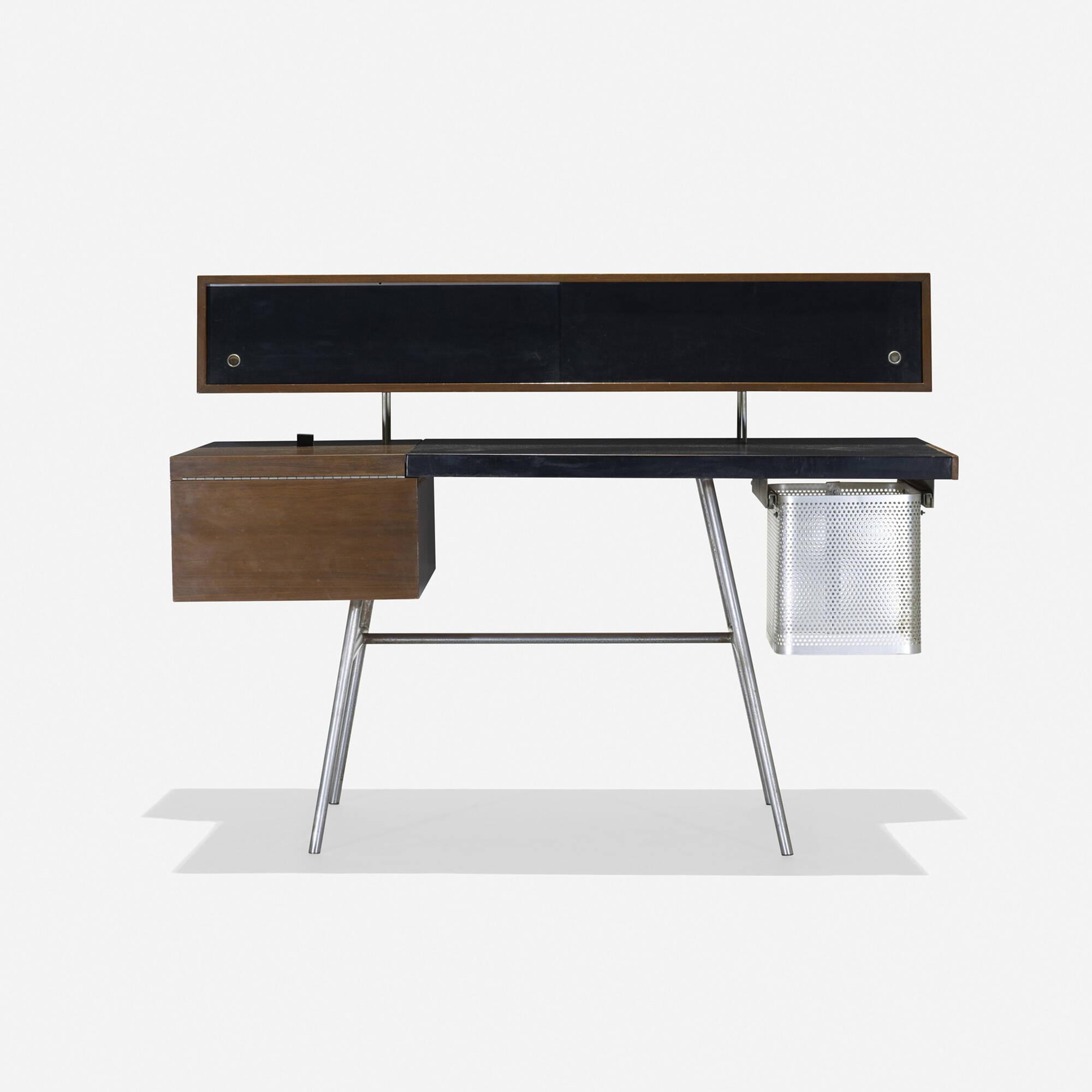 Modern Home Design October 2012: 126: George Nelson & Associates / Home Office Desk, Model 4658