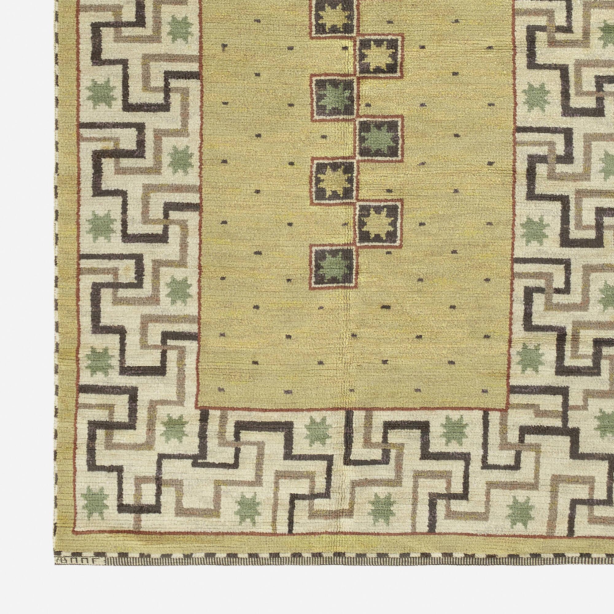 126: Märta Måås-Fjetterström / Il Greco pile carpet (2 of 2)
