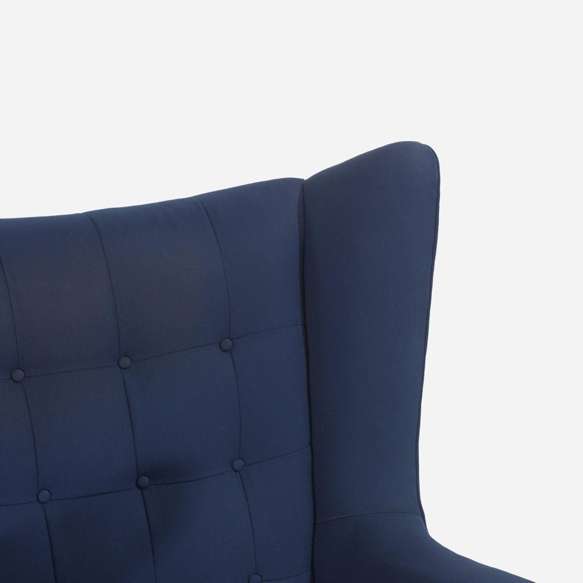 126: Hans J. Wegner / Papa Bear chair and ottoman (3 of 3)