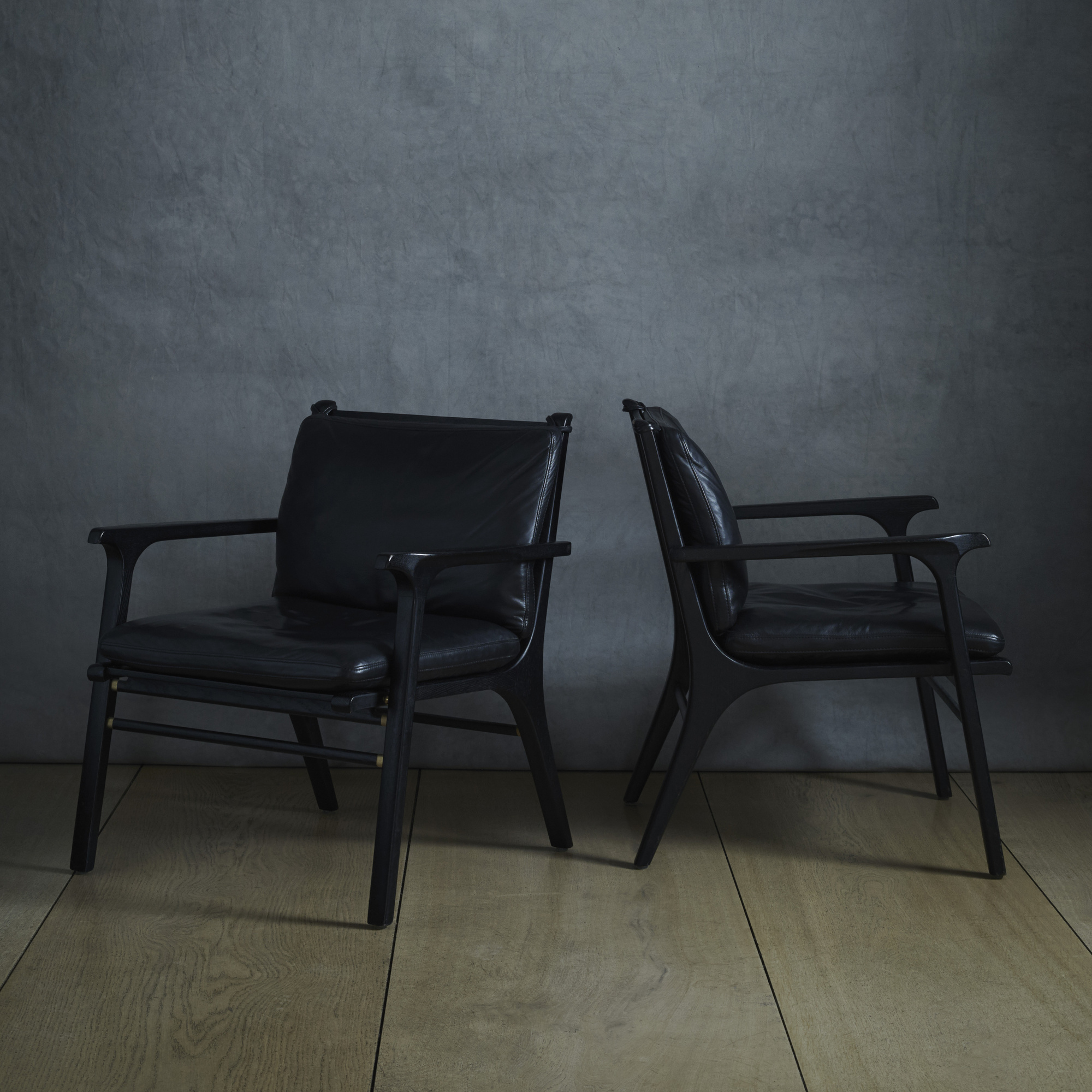 127: SPACE Copenhagen / Rén Collection Lounge Chairs, Pair (1 Of 2)
