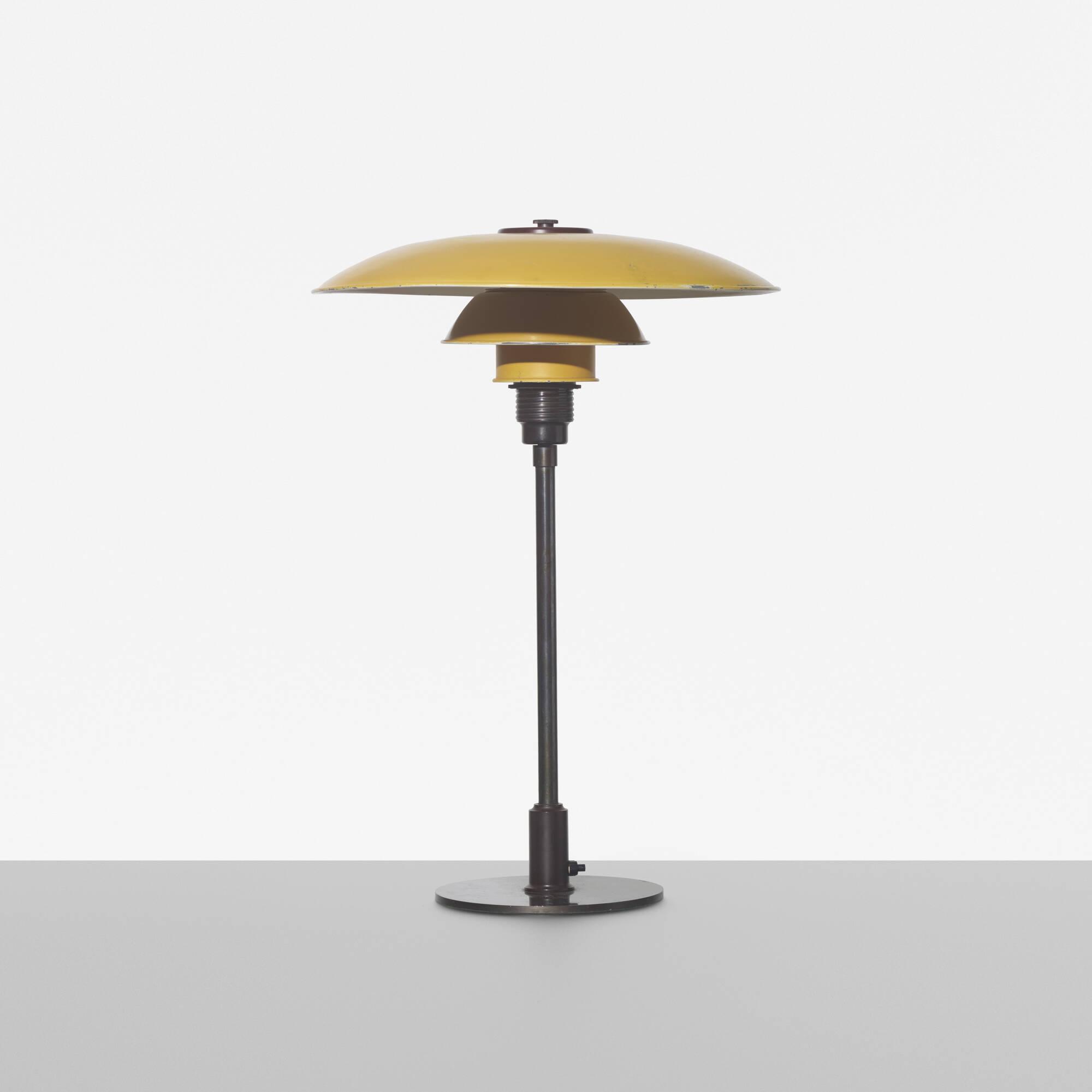 127 poul henningsen table lamp. Black Bedroom Furniture Sets. Home Design Ideas