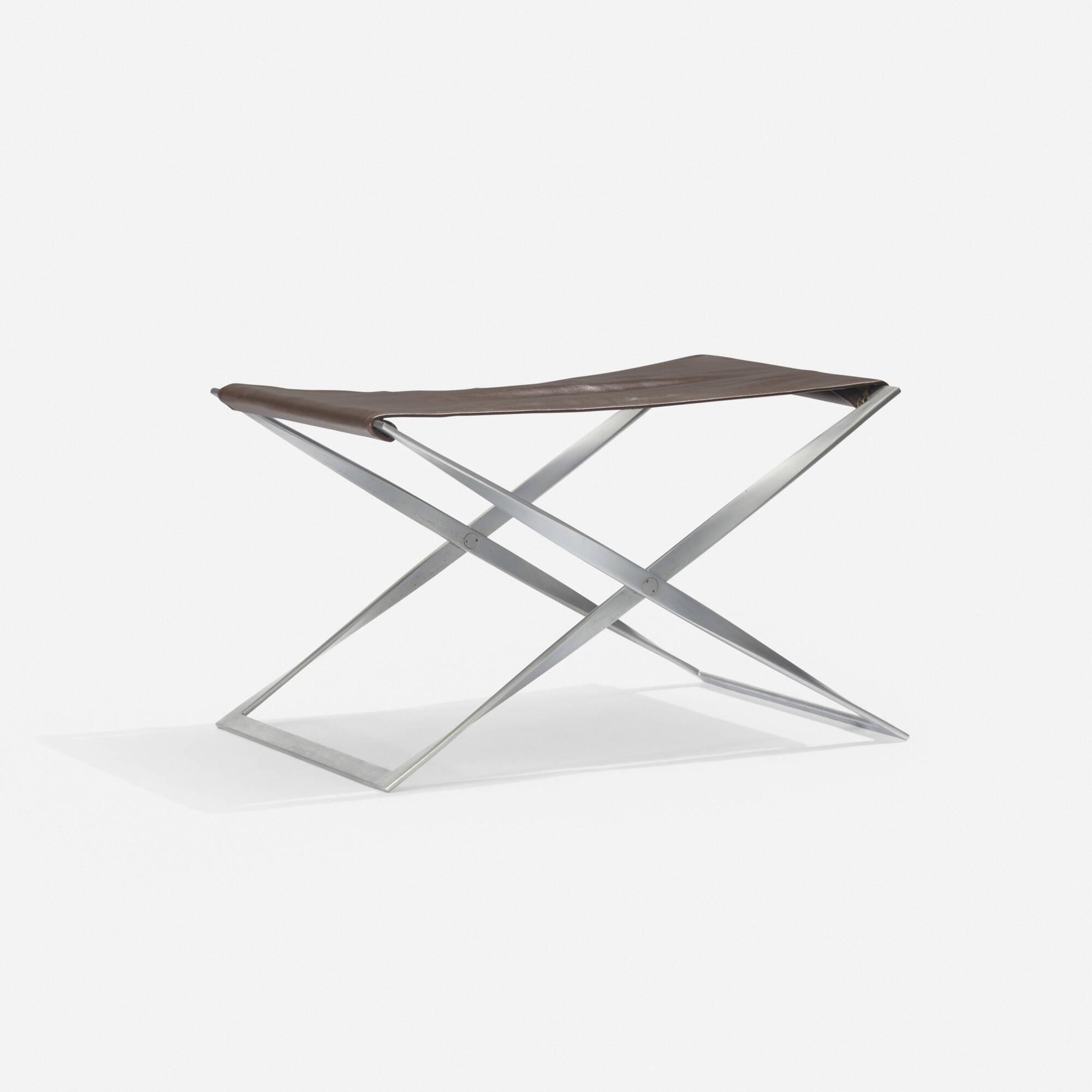 127: Poul Kjaerholm / PK 91 stool (1 of 2)
