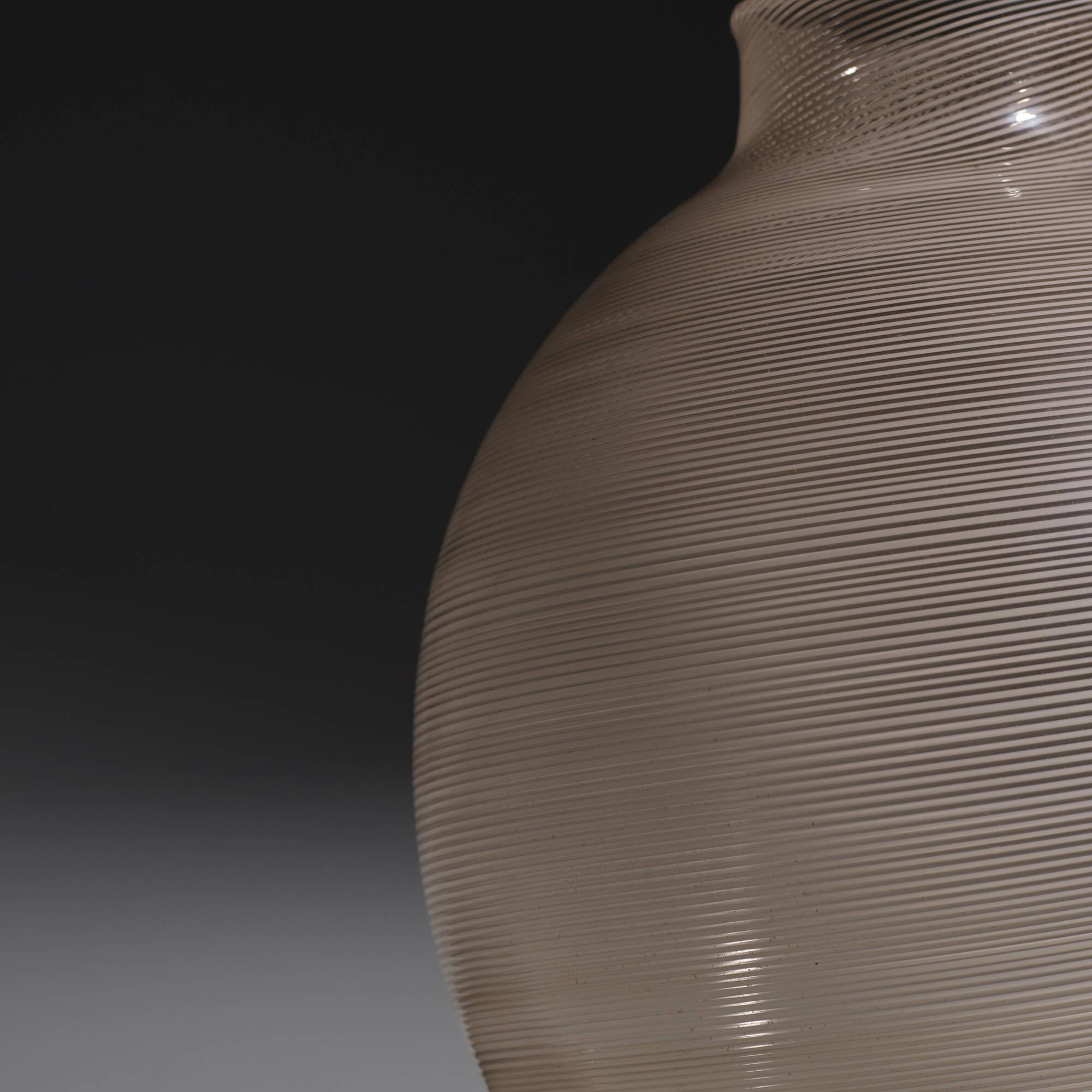 127: Carlo Scarpa / Mezza Filigrana vase, model 1886 (2 of 3)
