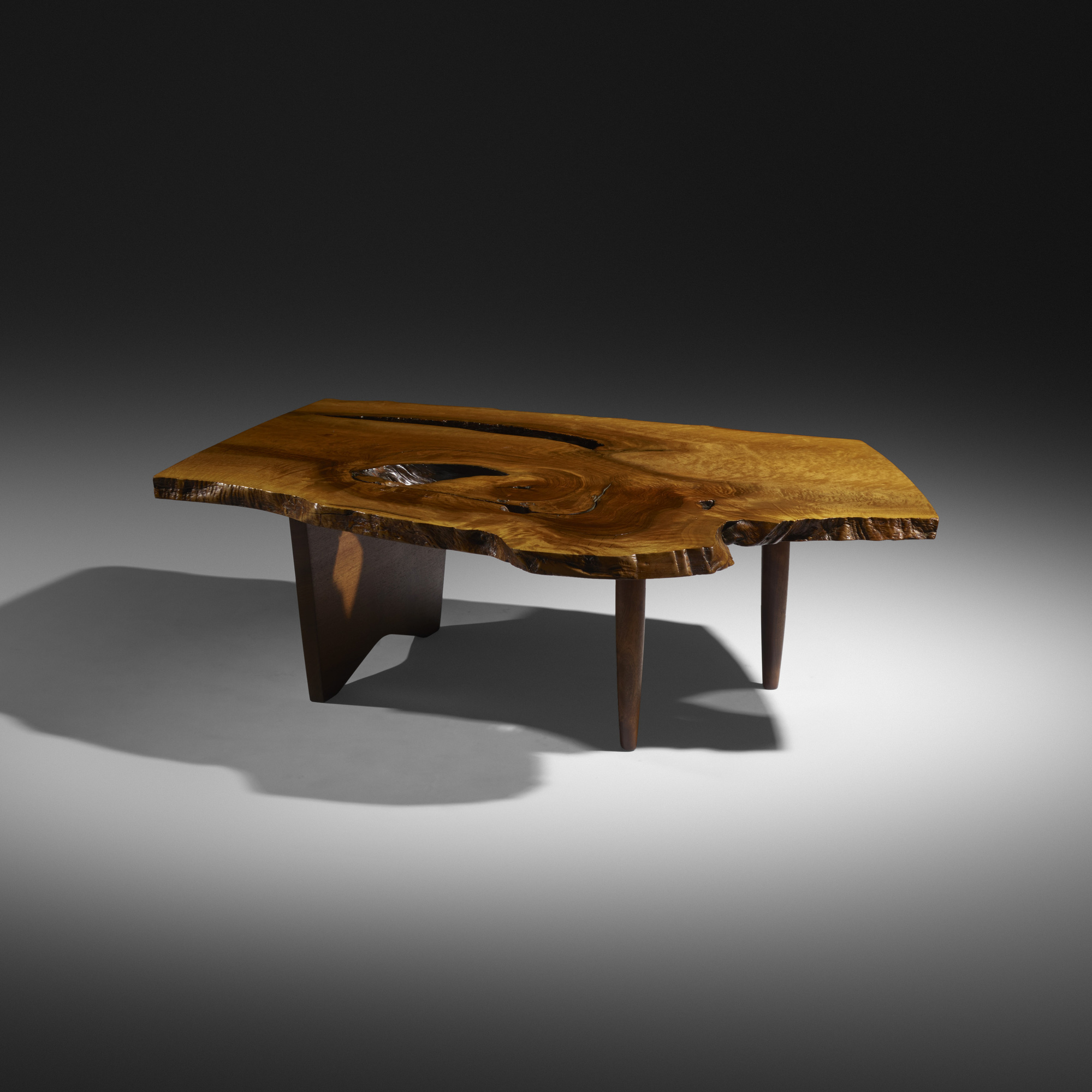 128: George Nakashima / Slab coffee table (1 of 2)