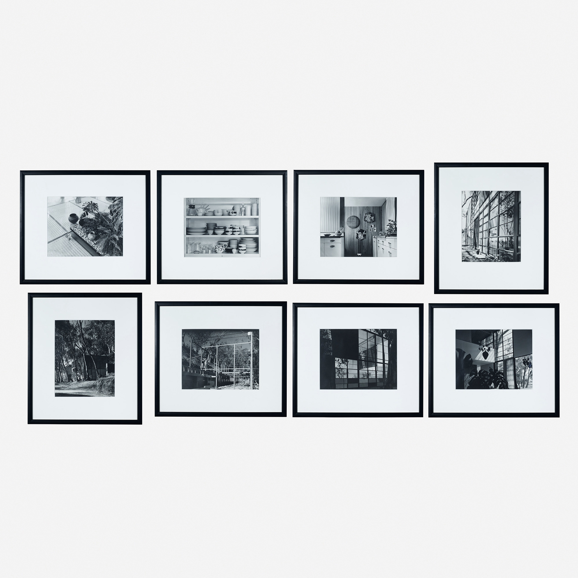 128: Charles and Ray Eames / collection of eight photographs (1 of 9)