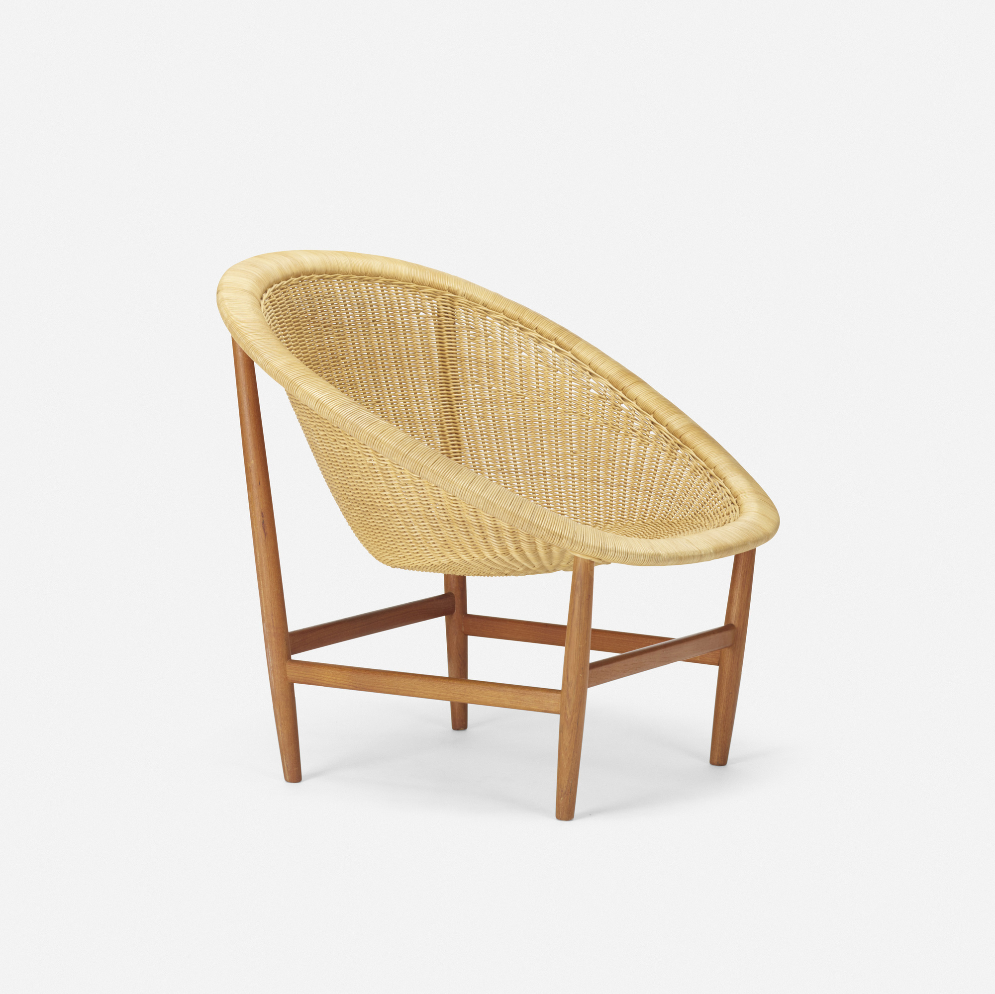 Oval lounge chair - 128 Nanna Ditzel Lounge Chair 1 Of 2