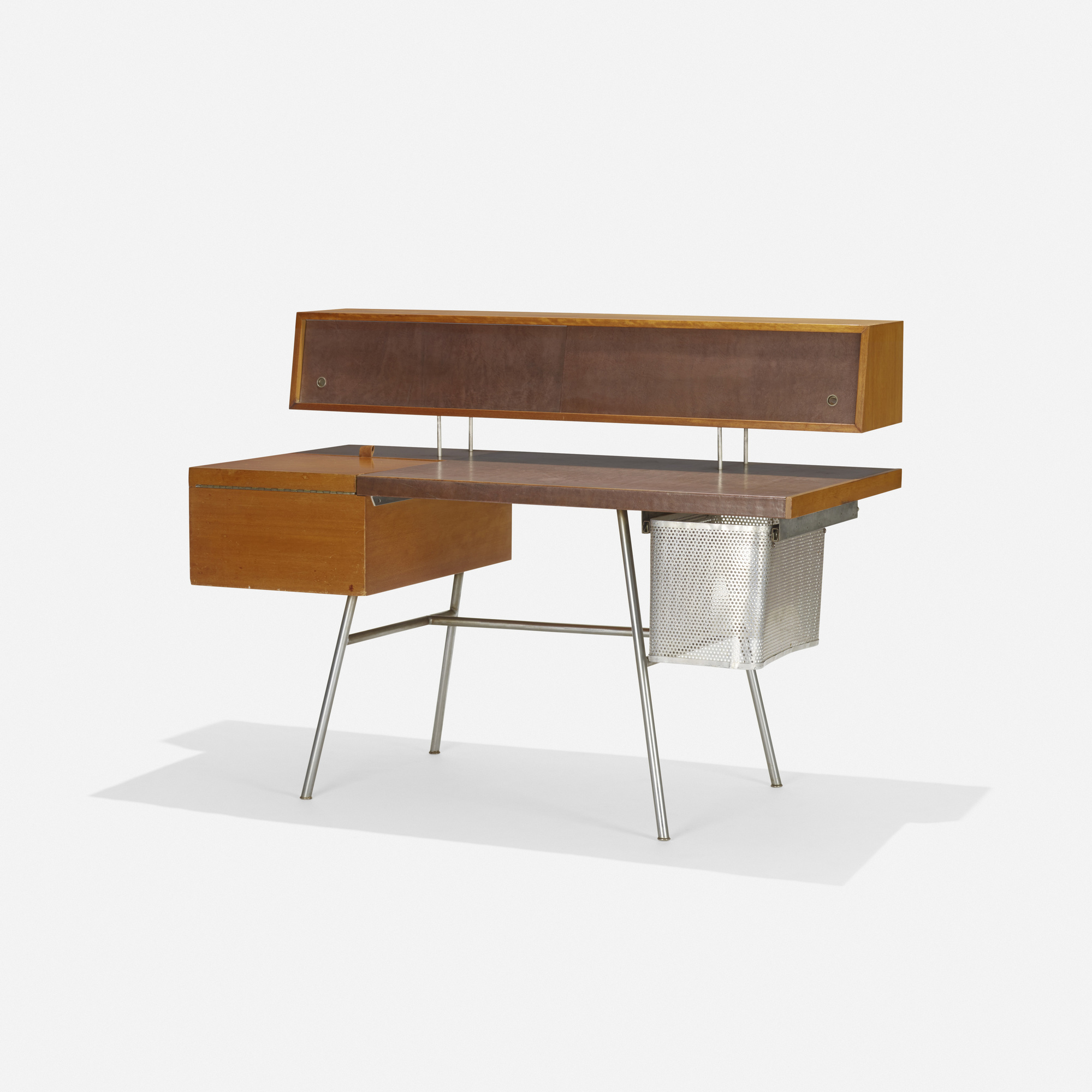 128: GEORGE NELSON & ASSOCIATES, Home Office desk, model 4658 ...