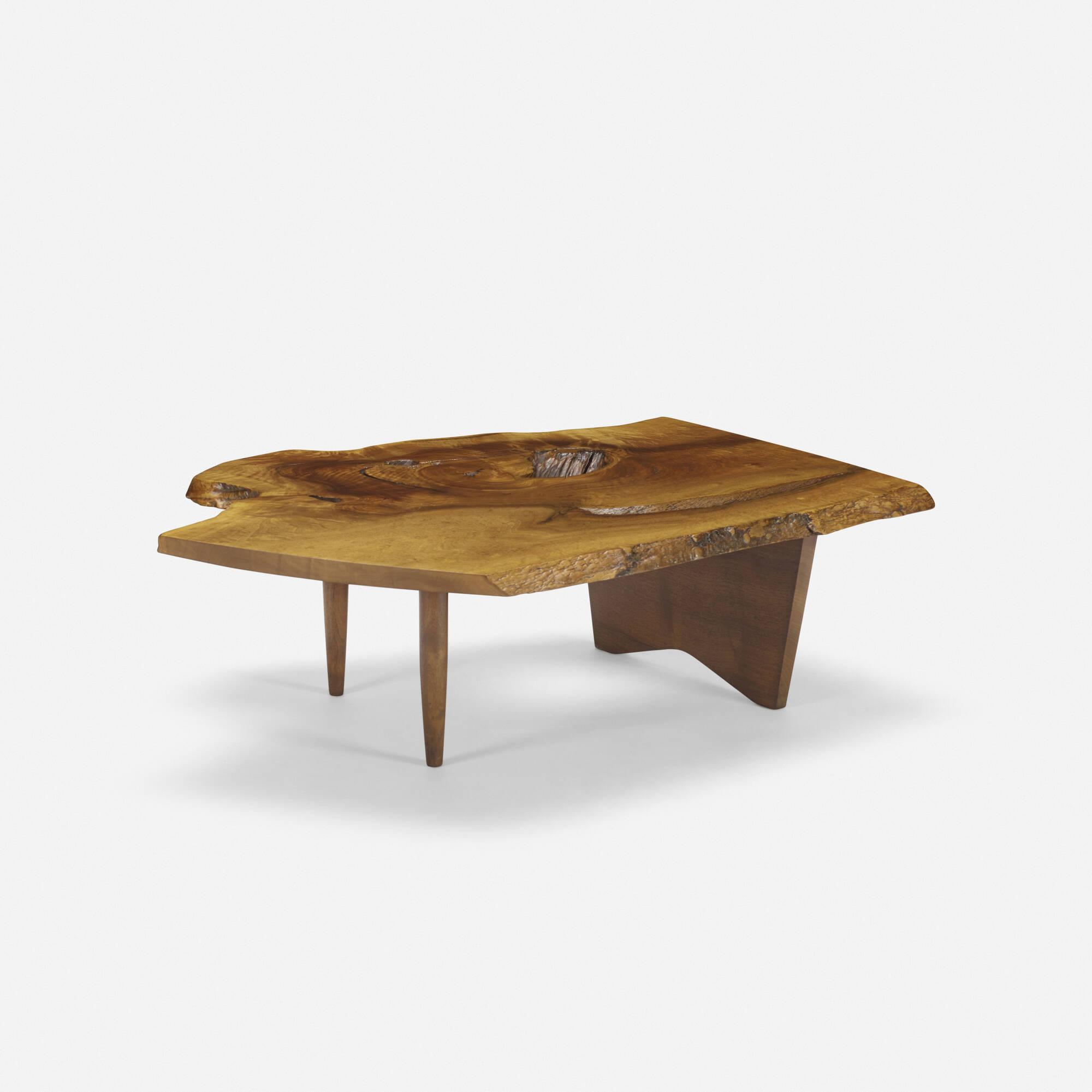 128: George Nakashima / Slab coffee table (2 of 2)