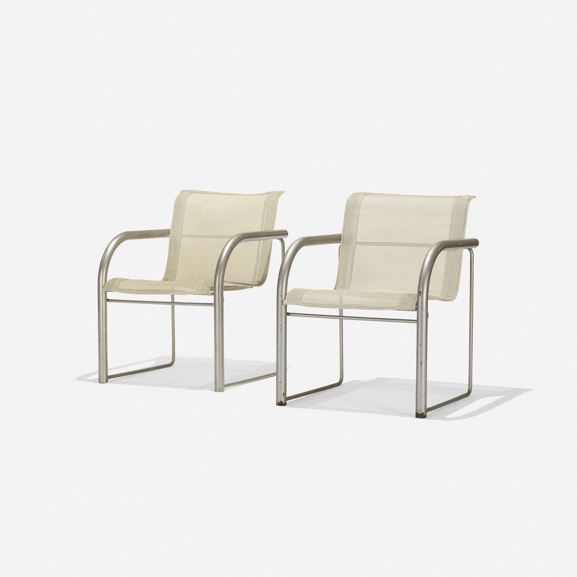 richard schultz  prototype contour dining chairs pair  the  -   richard schultz  prototype contour dining chairs pair ( of )
