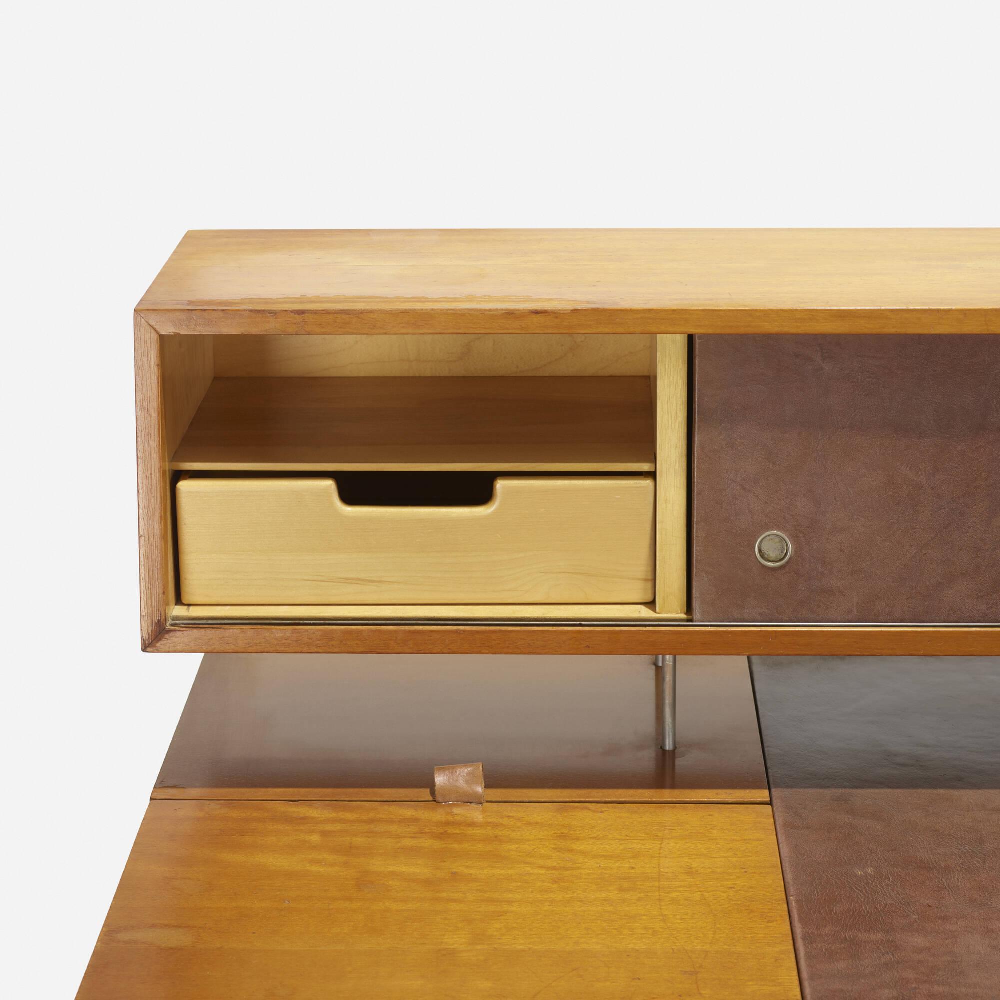 desk home office 2017. 128: George Nelson \u0026 Associates / Home Office Desk, Model 4658 (3 Of Desk 2017