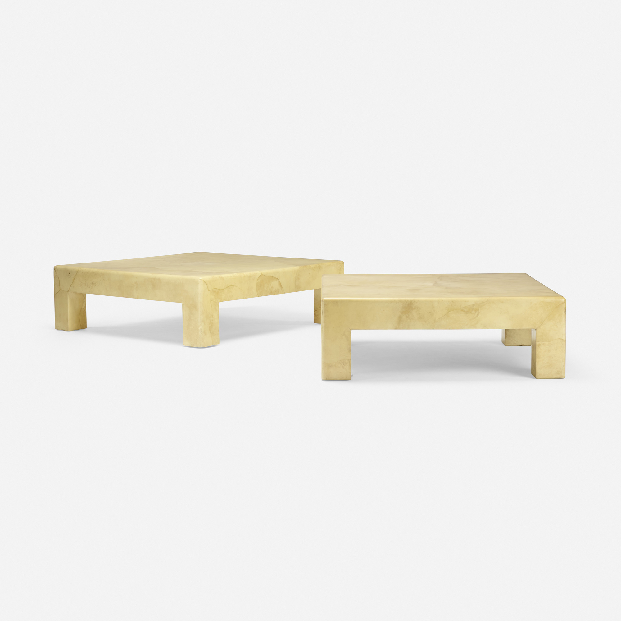 129: Karl Springer / Parsons tables, pair (2 of 3)