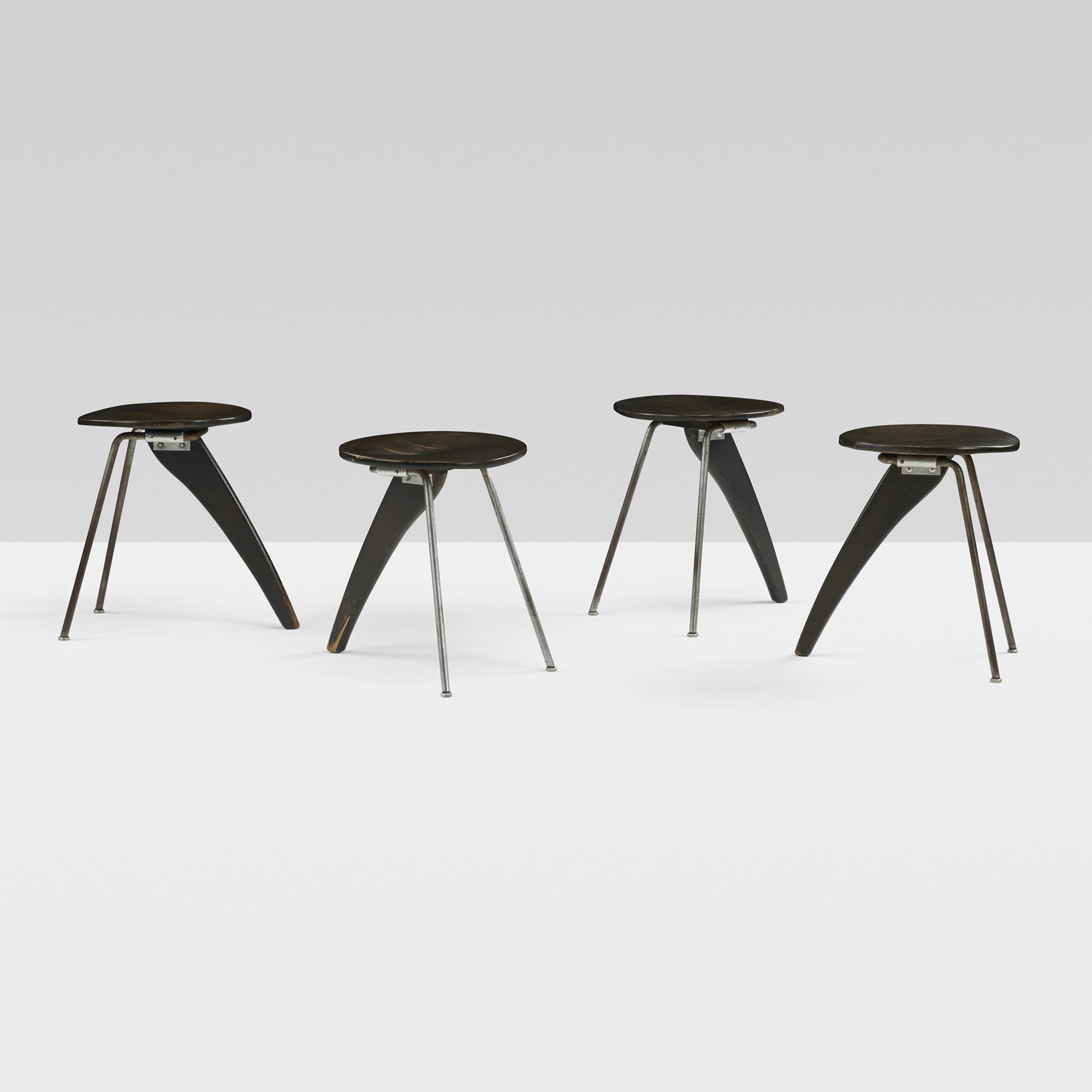 ... 129: Isamu Noguchi / Rare And Important Rudder Dining Suite From The  Hasting Estate (