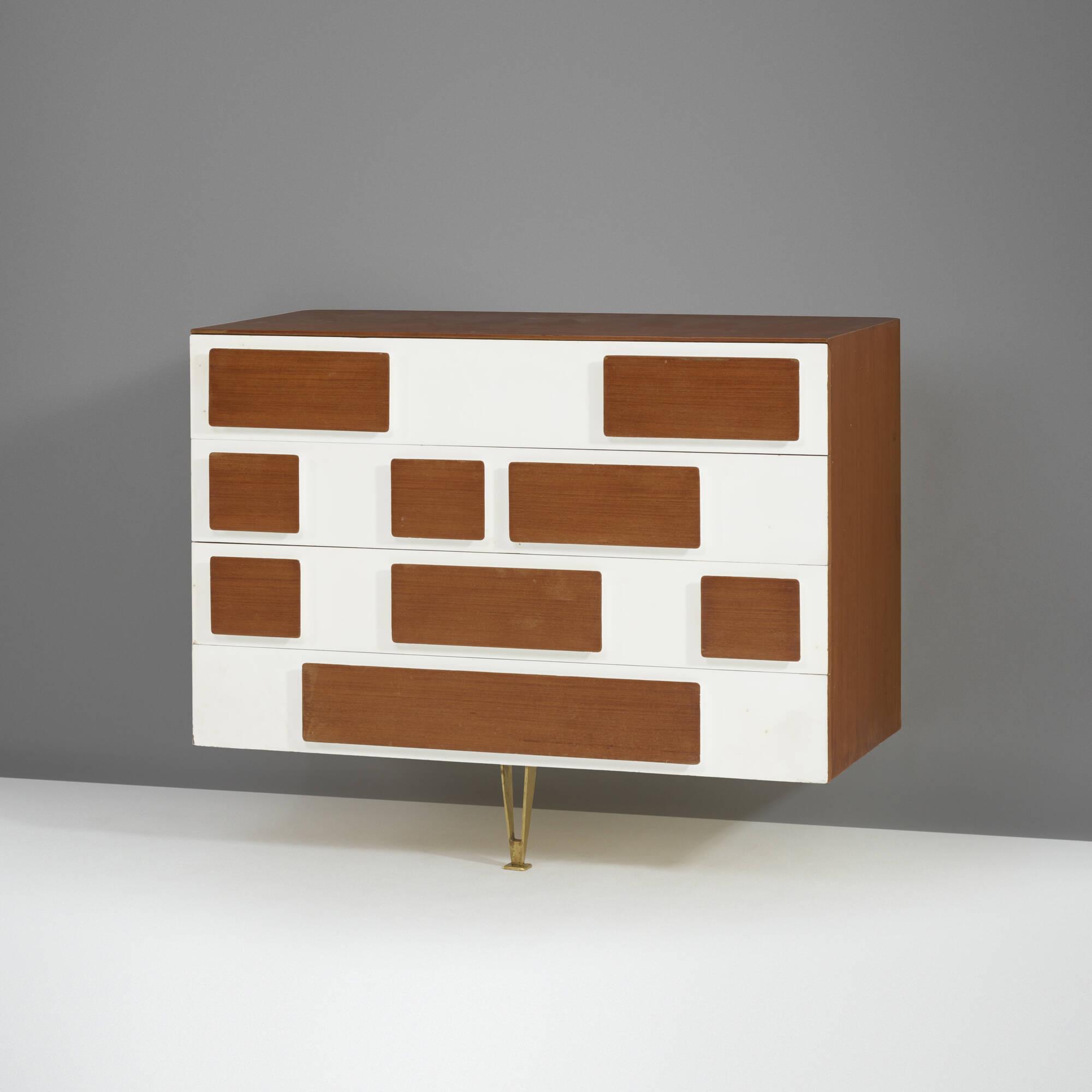 12: gio ponti / a unique cabinet from villa arreaza, caracas