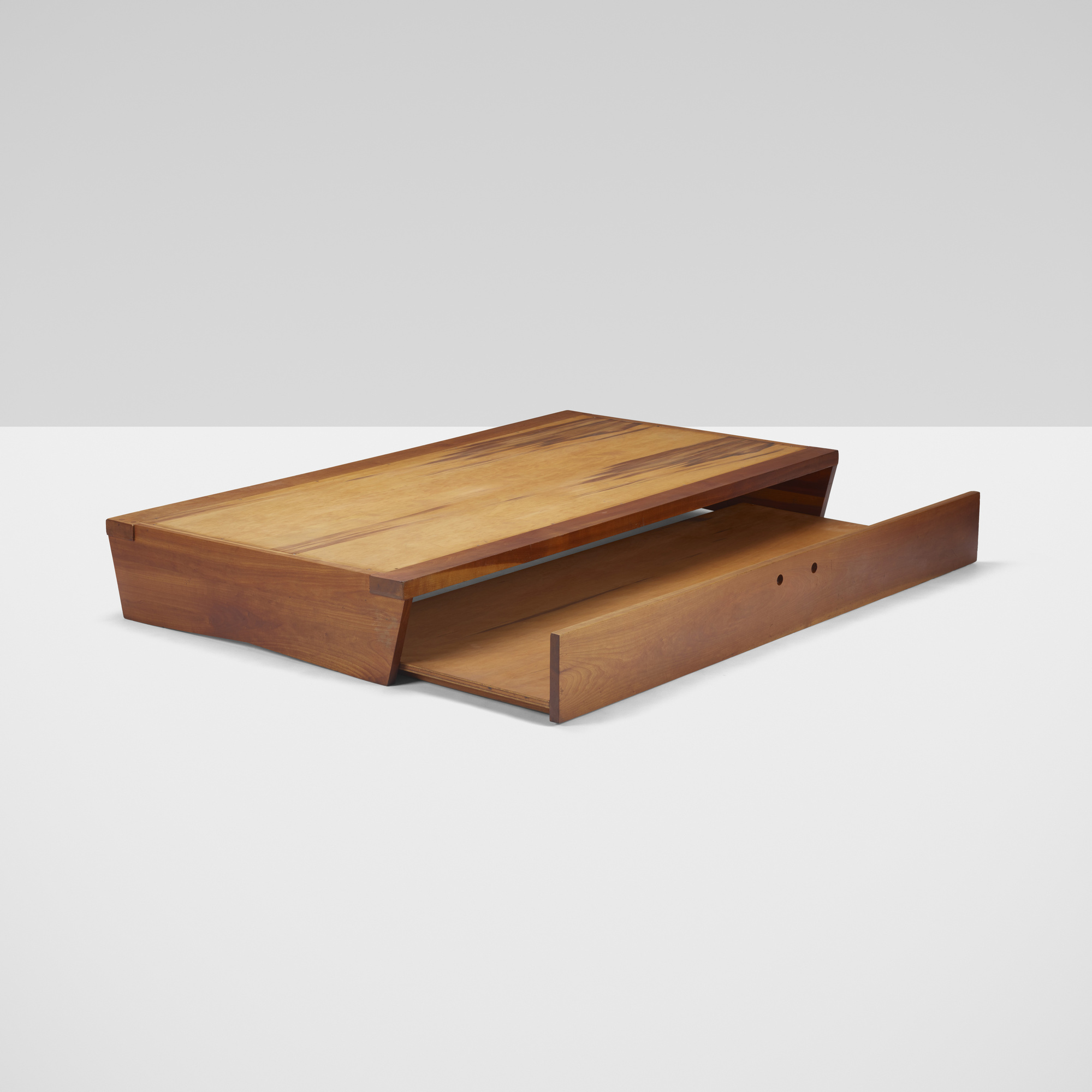 130: George Nakashima / trundle bed (1 of 2)