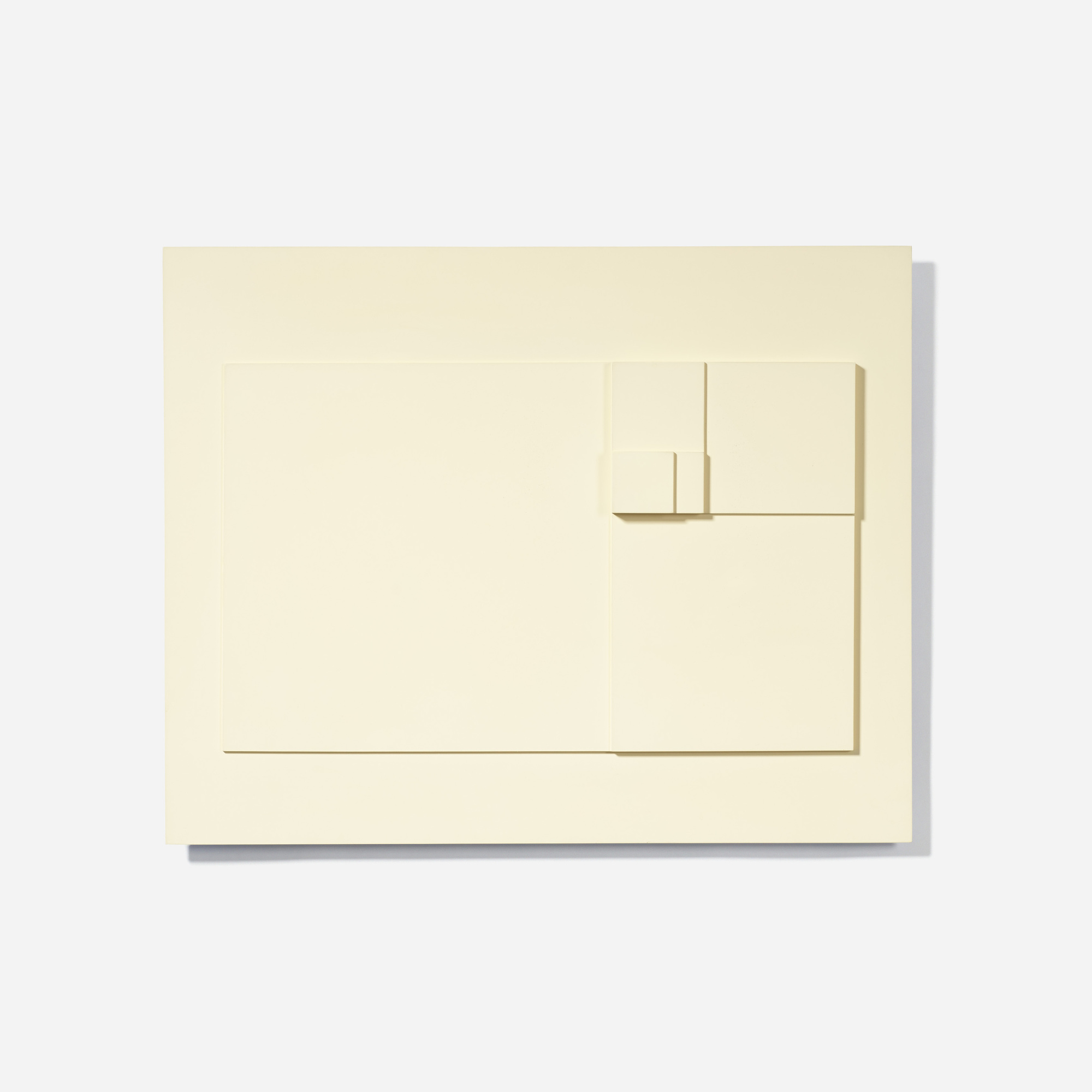 130: David Barr / Structurist Relief No. 22 (1 of 3)