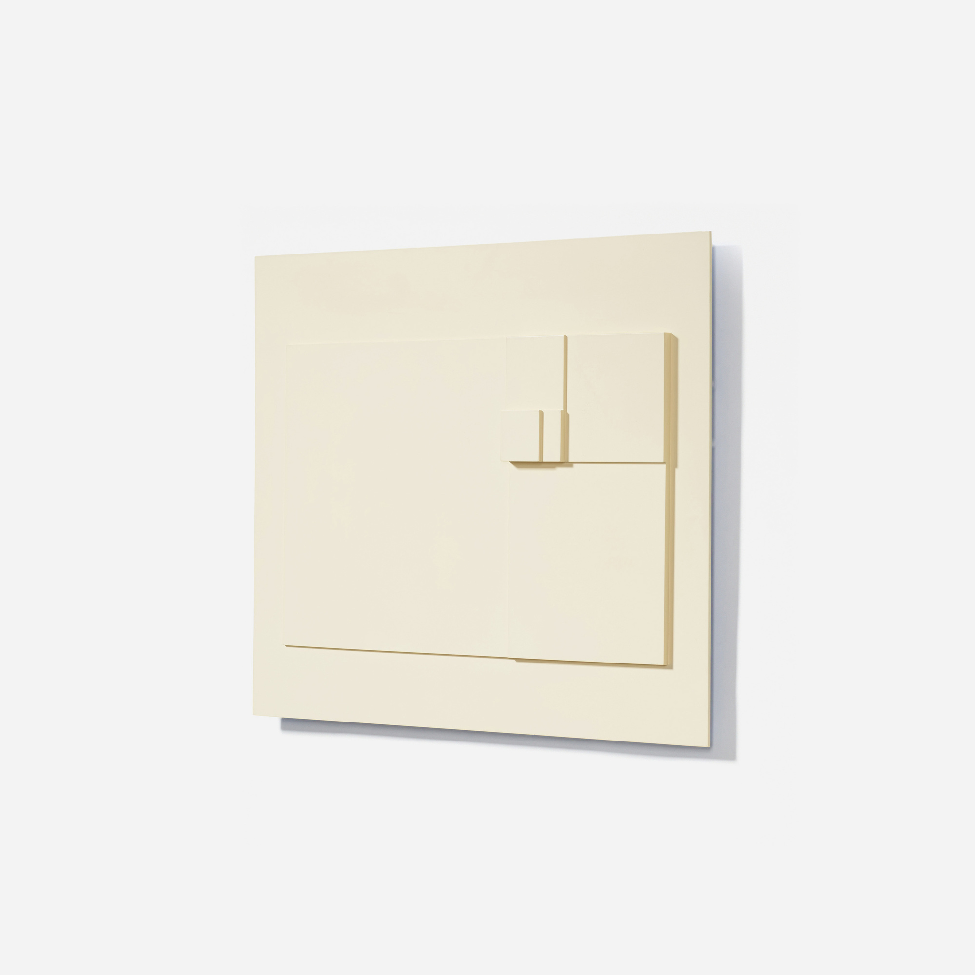 130: David Barr / Structurist Relief No. 22 (2 of 3)