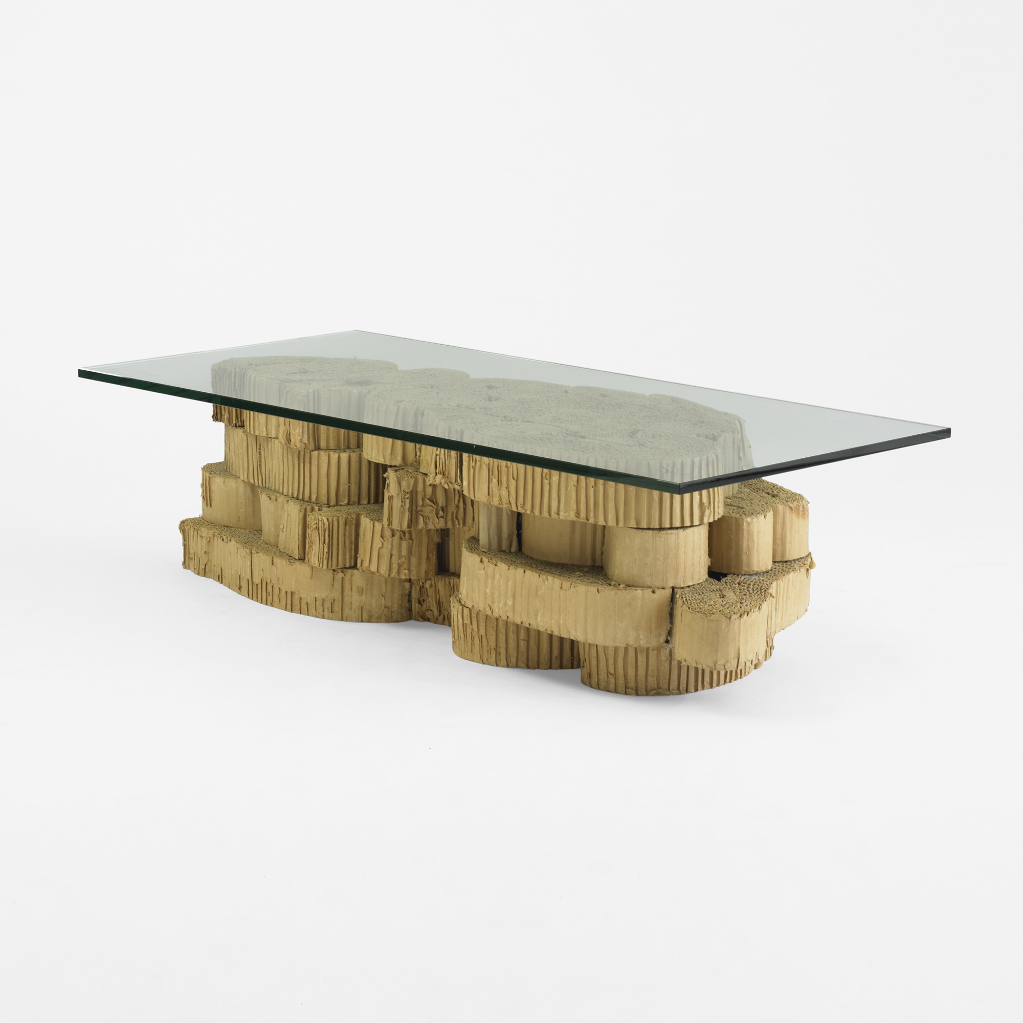 131 Frank Gehry Custom Coffee Table From The Chiat Day Offices In Venice 1 Of 5