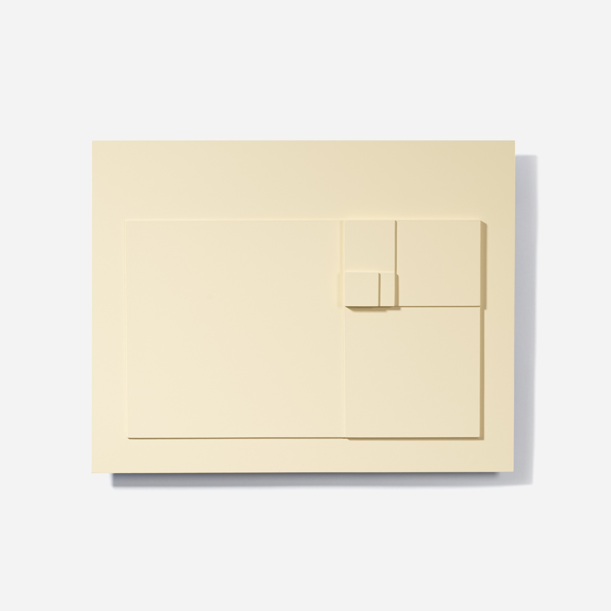 131: David Barr / Structurist Relief No. 343 (Reference to No. 20s) (1 of 3)