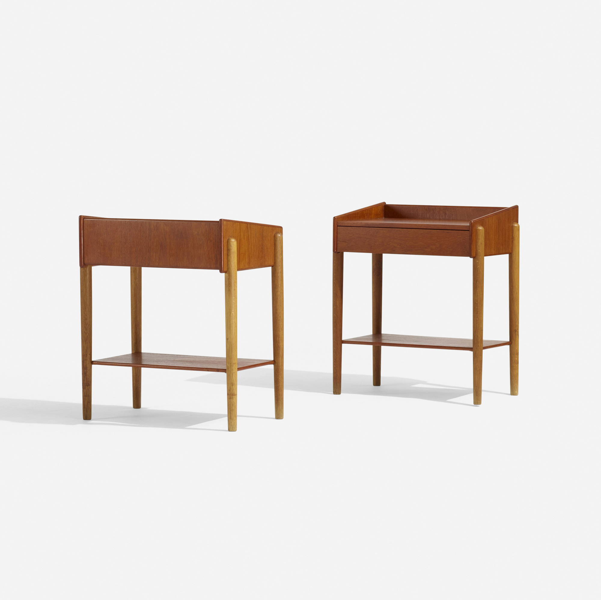 131: Børge Mogensen / nightstands model 148, pair (2 of 2)