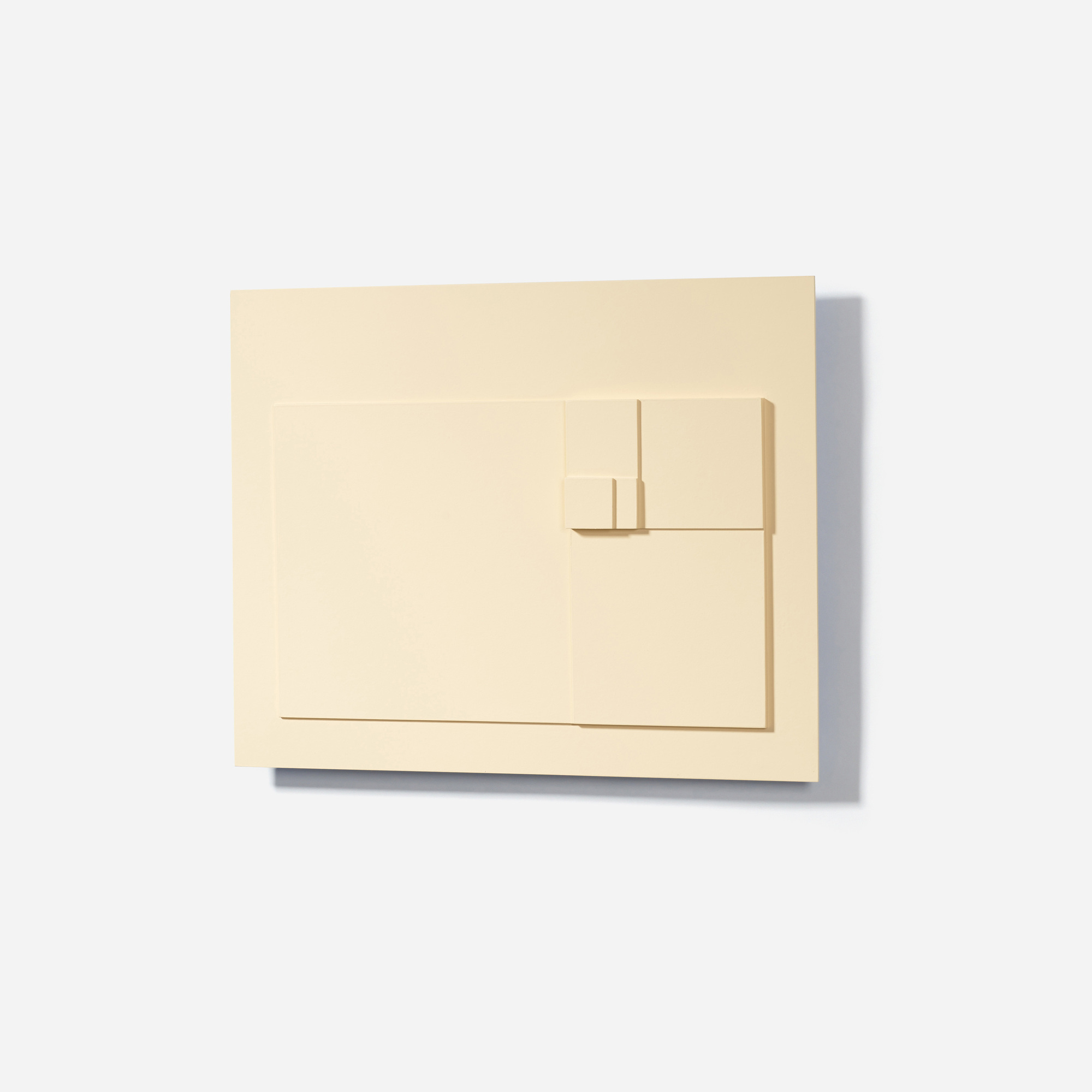 131: David Barr / Structurist Relief No. 343 (Reference to No. 20s) (2 of 3)