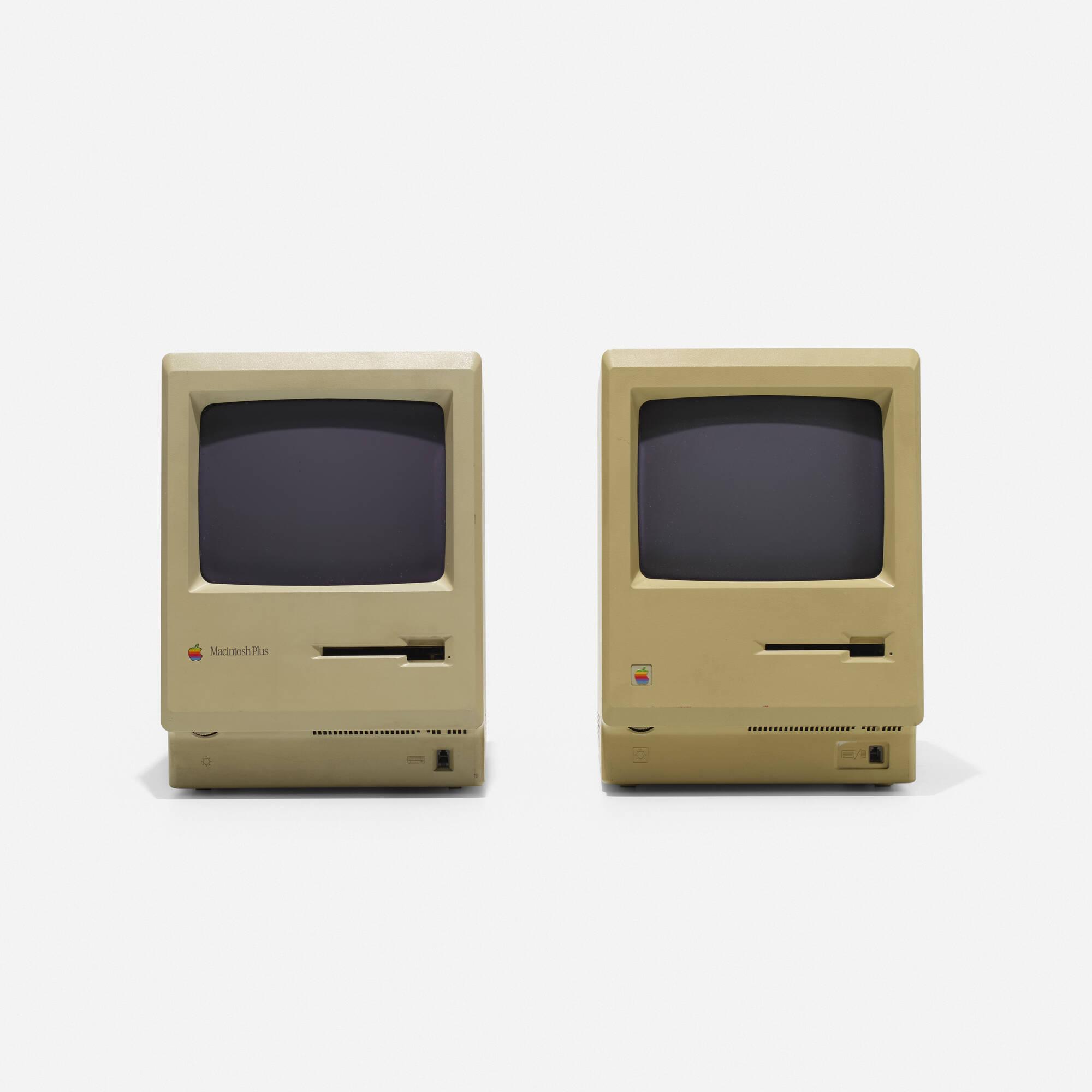 131: Frog Design / Apple Macintosh 512K Personal Computers, pair (2 of 2)