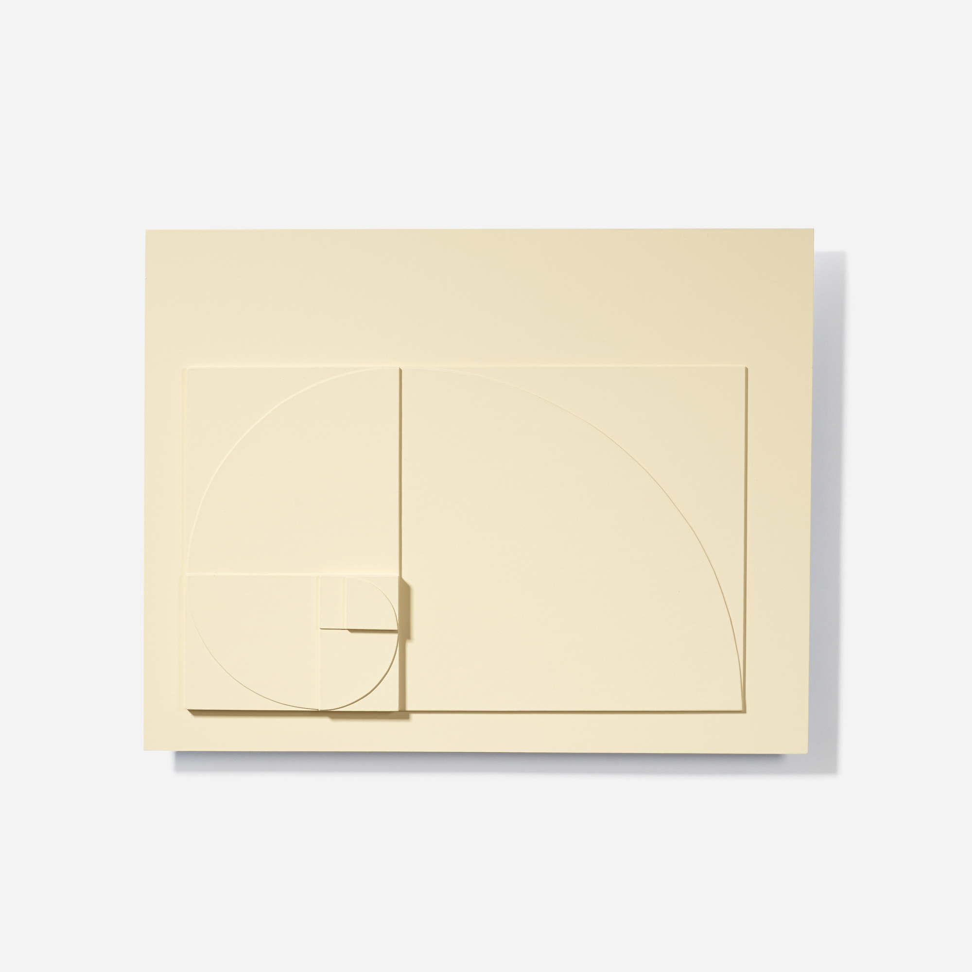 132: David Barr / Structurist Relief No. 344 (Reference to No. 20s) (1 of 3)