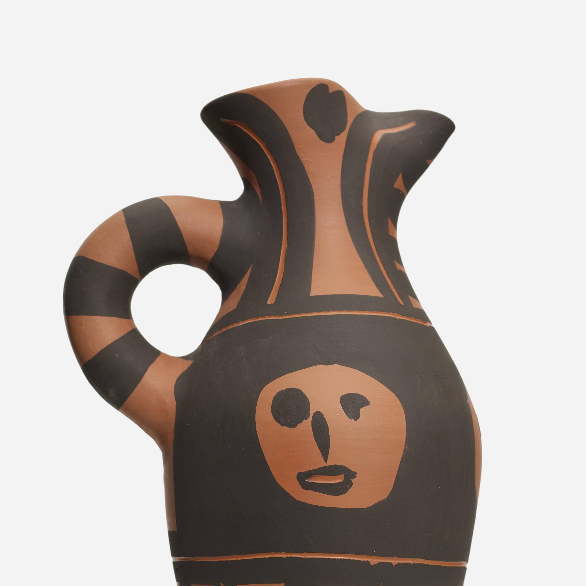 132: Pablo Picasso / Yan Black Headband ewer (2 of 3)