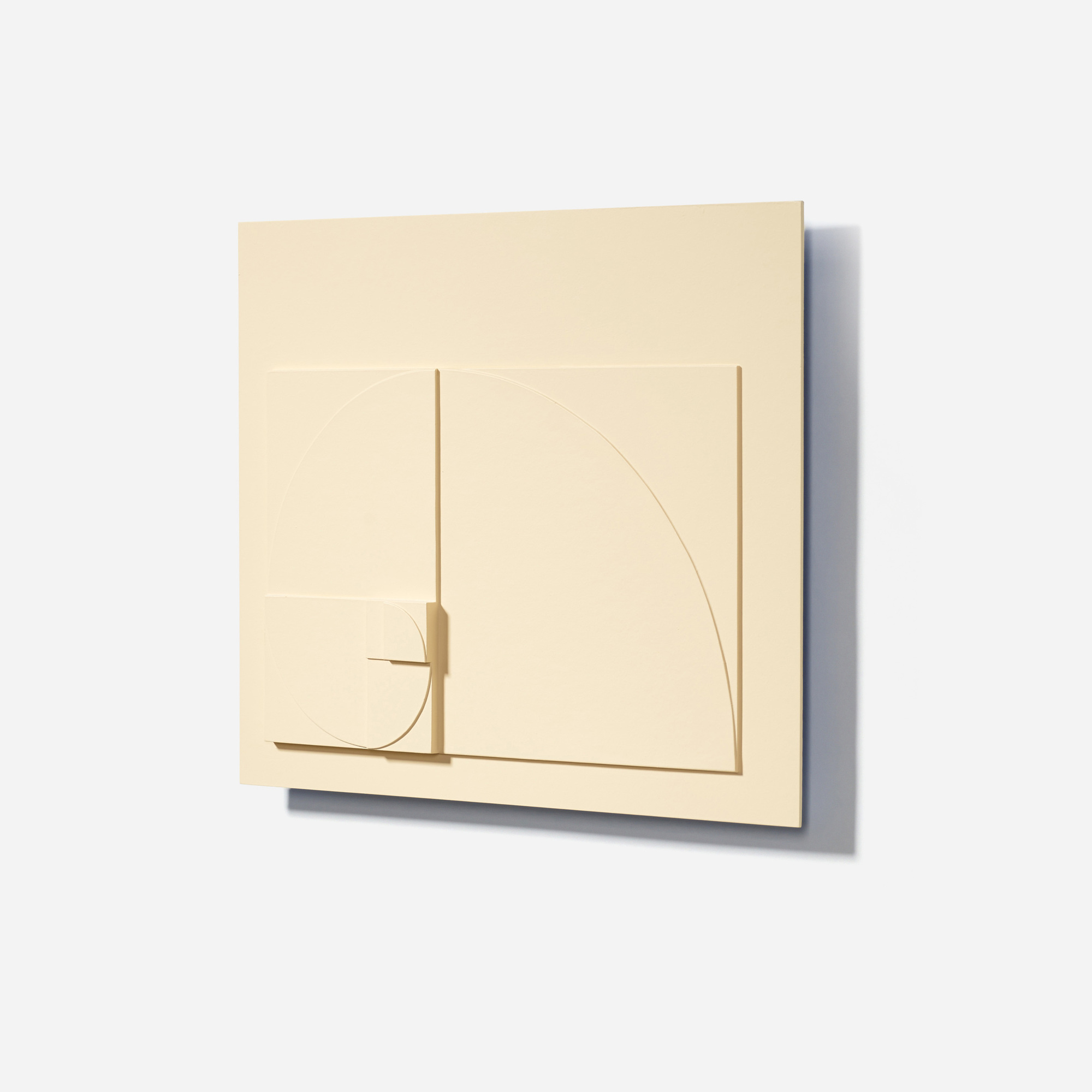 132: David Barr / Structurist Relief No. 344 (Reference to No. 20s) (2 of 3)