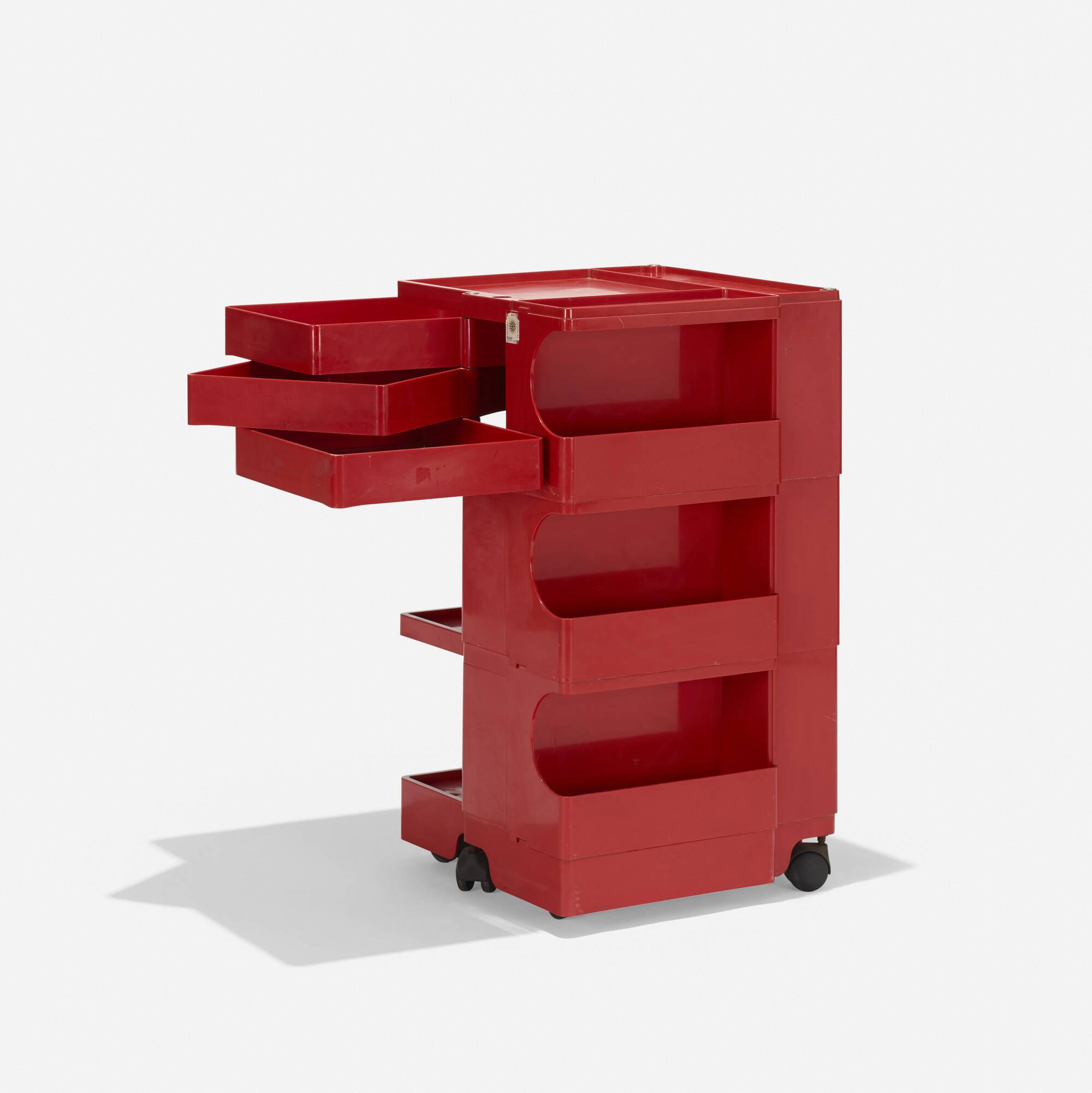 132: Joe Colombo / Boby 3 portable storage system (2 of 3)