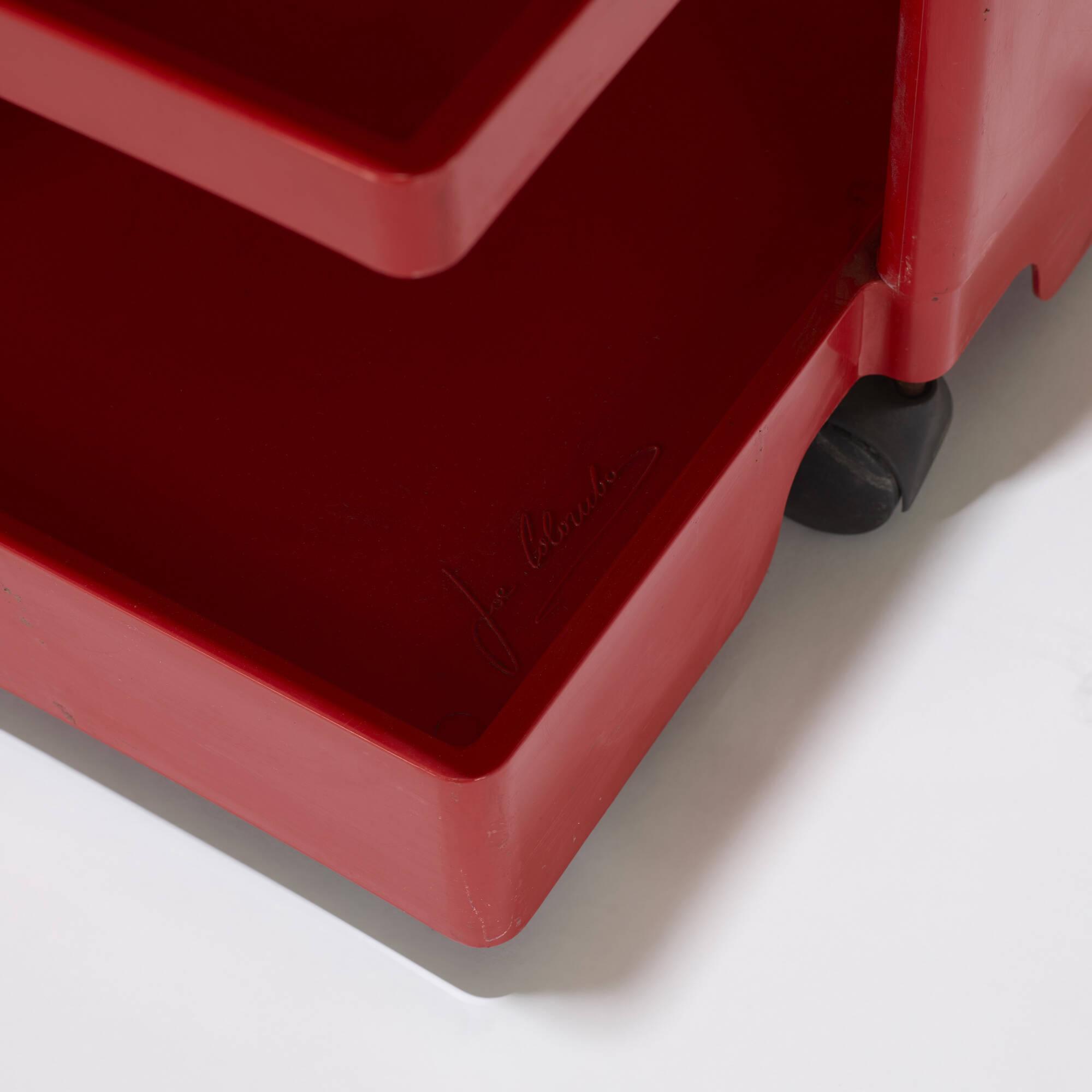 132: Joe Colombo / Boby 3 portable storage system (3 of 3)