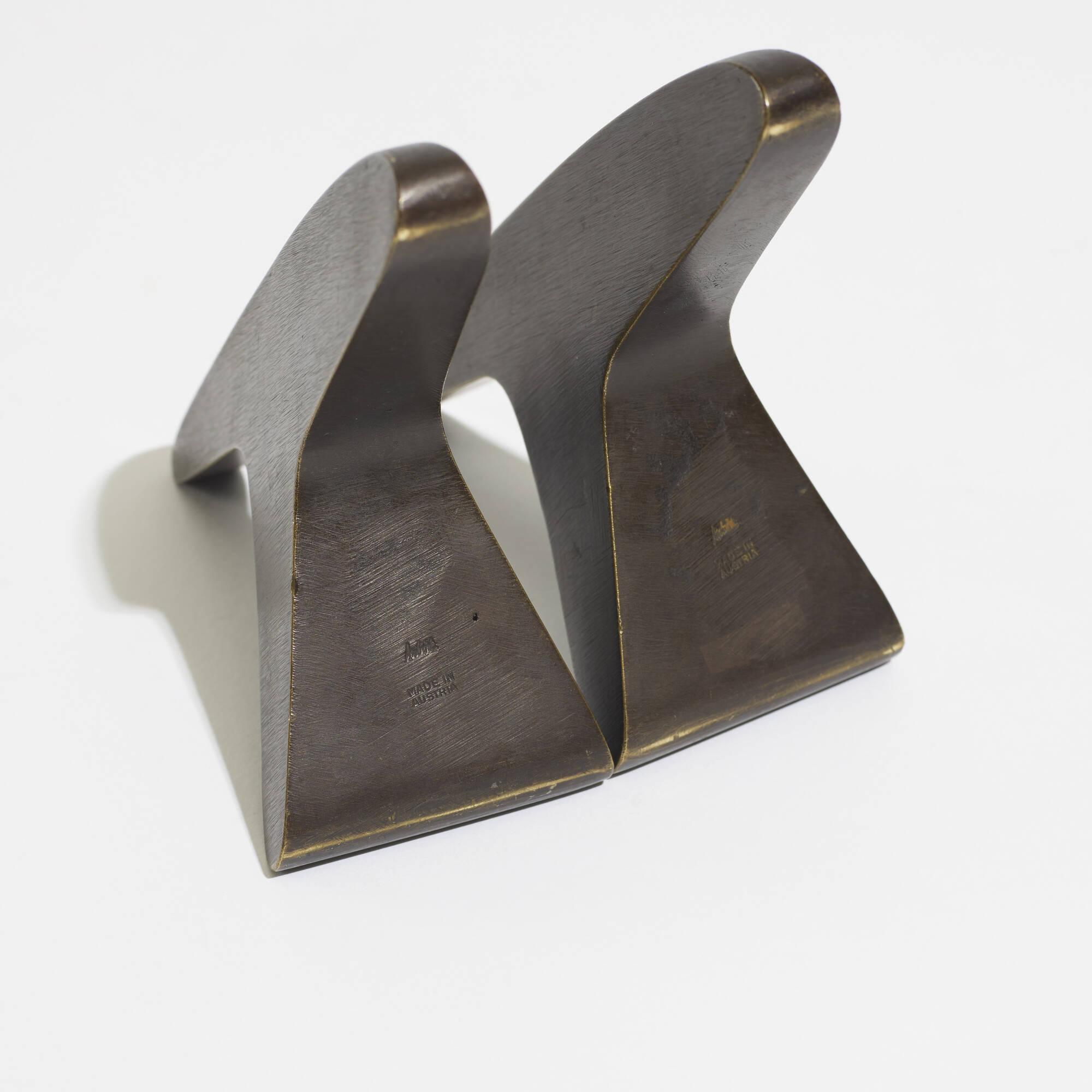 132: Carl Auböck II / bookends model 3847, pair (3 of 3)