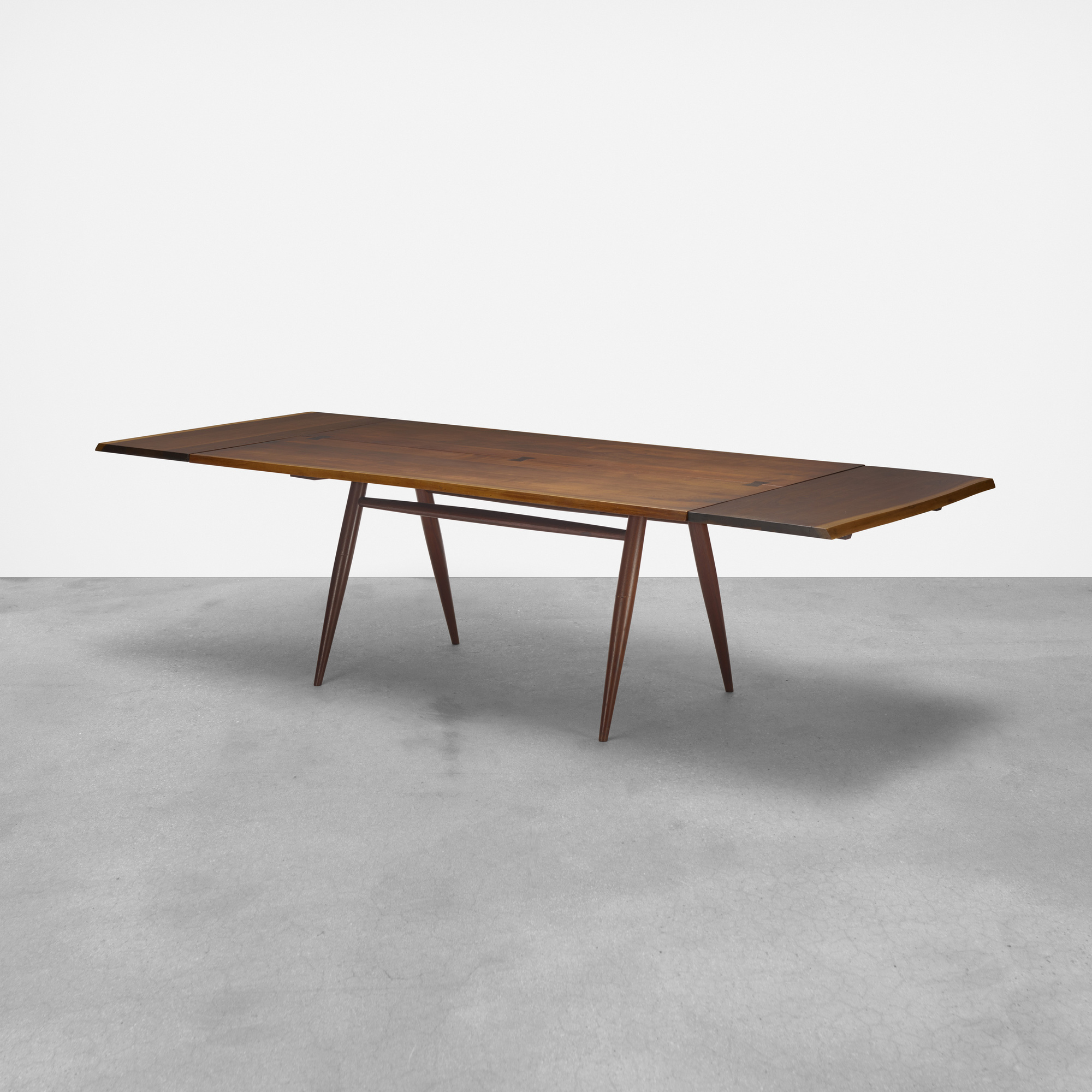 133: George Nakashima / Turned leg dining table (1 of 3)