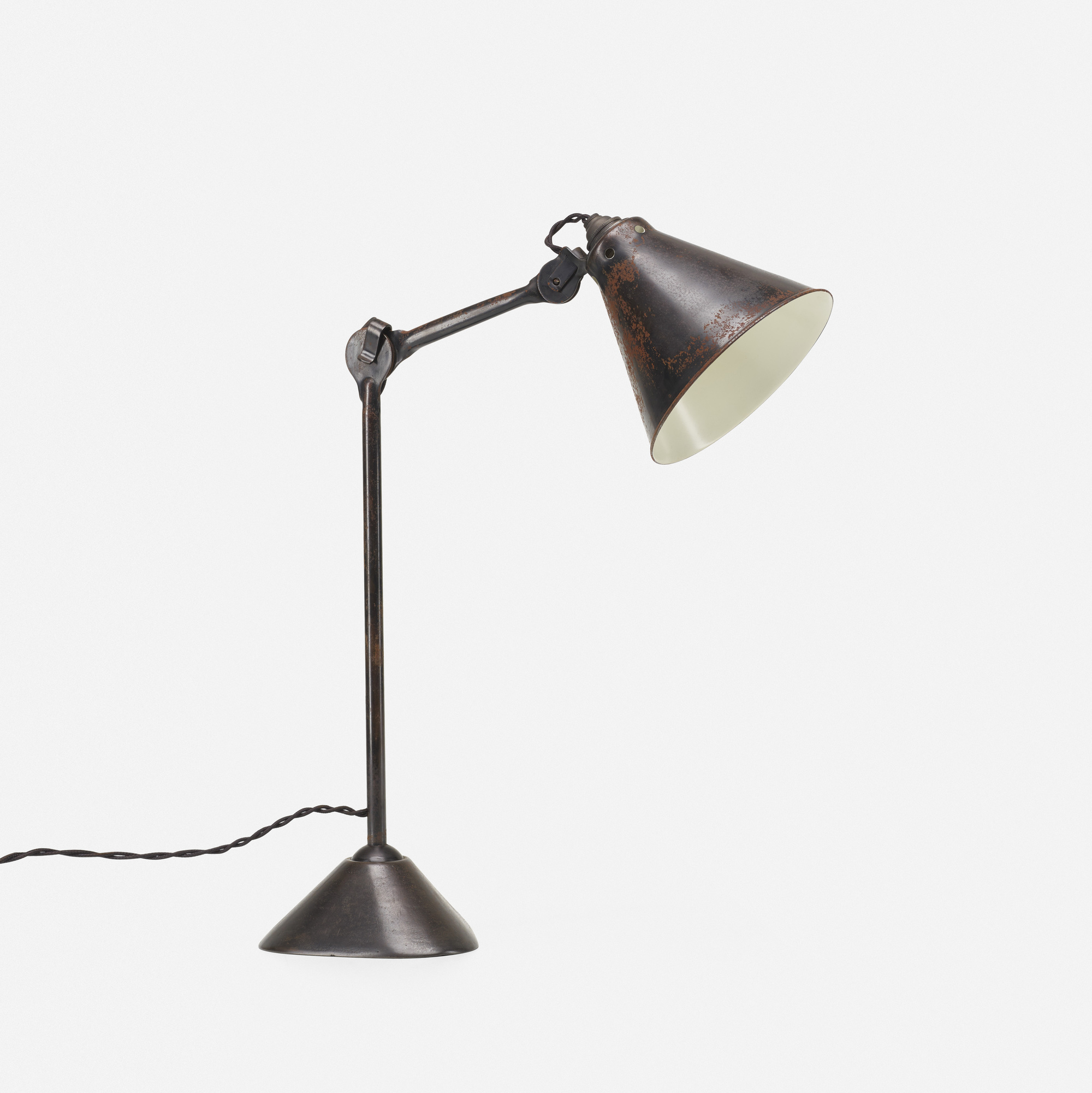 133: Bernard-Albin Gras / table lamp, model 205 (1 of 2)
