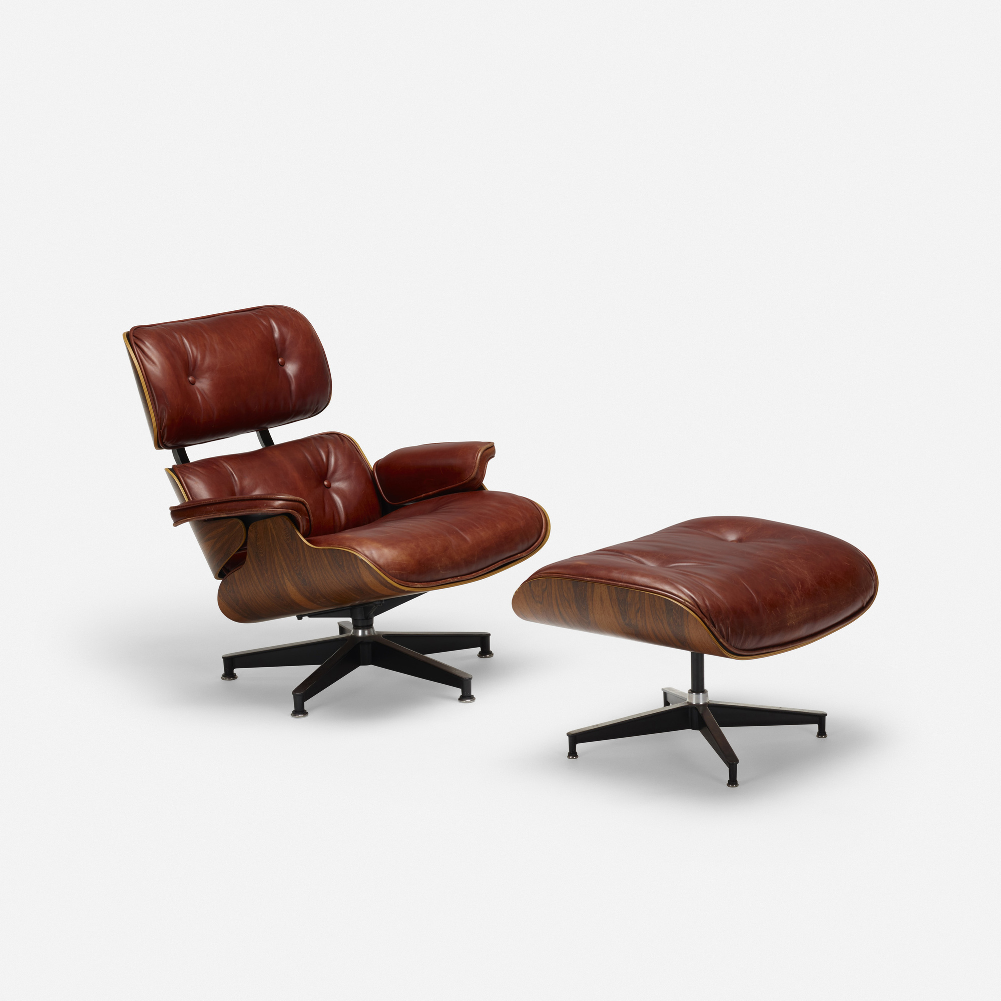 133: Charles And Ray Eames / Special Order 670 Lounge Chair And 671 Ottoman