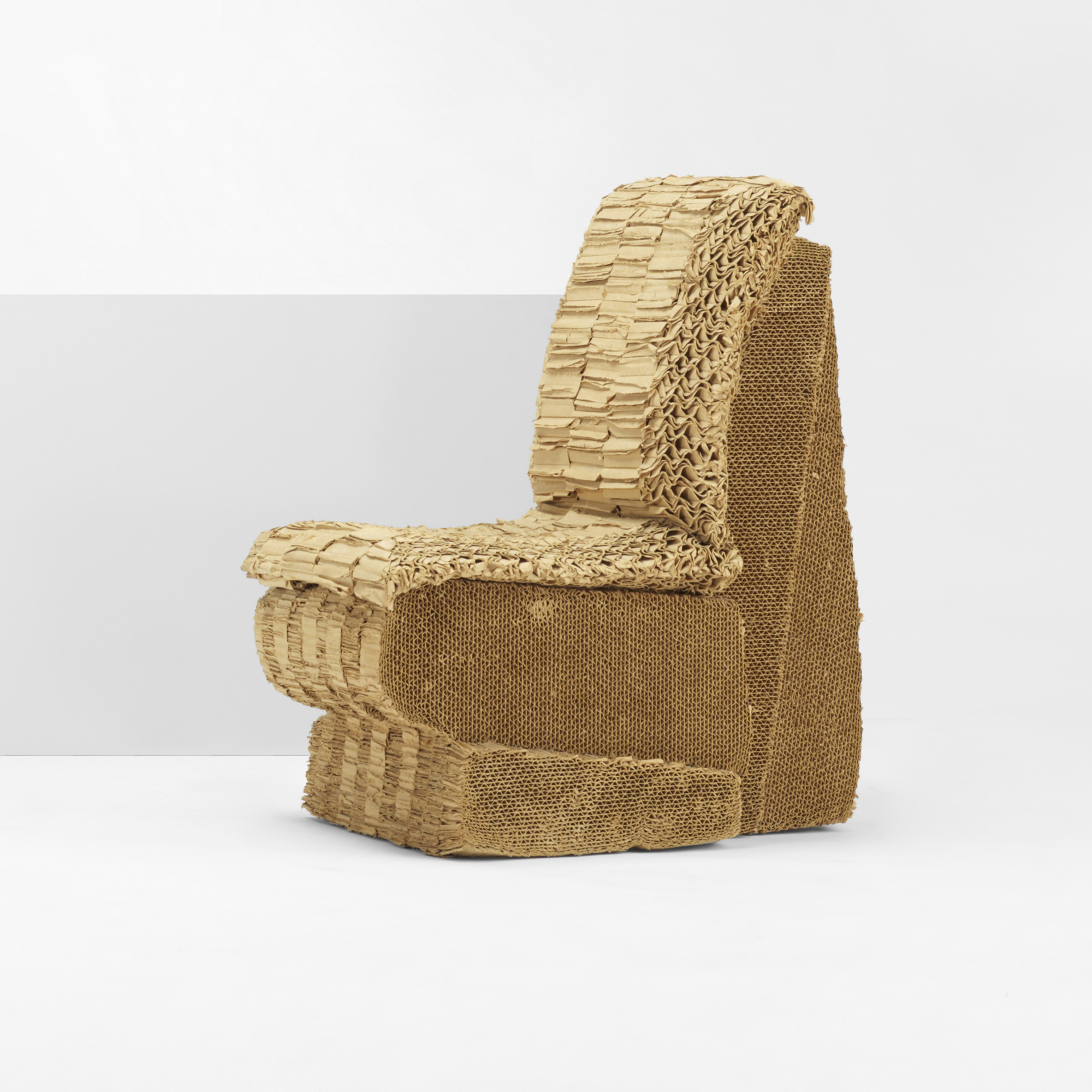 133: Frank Gehry / Sitting Beaver Chair (1 Of 6)