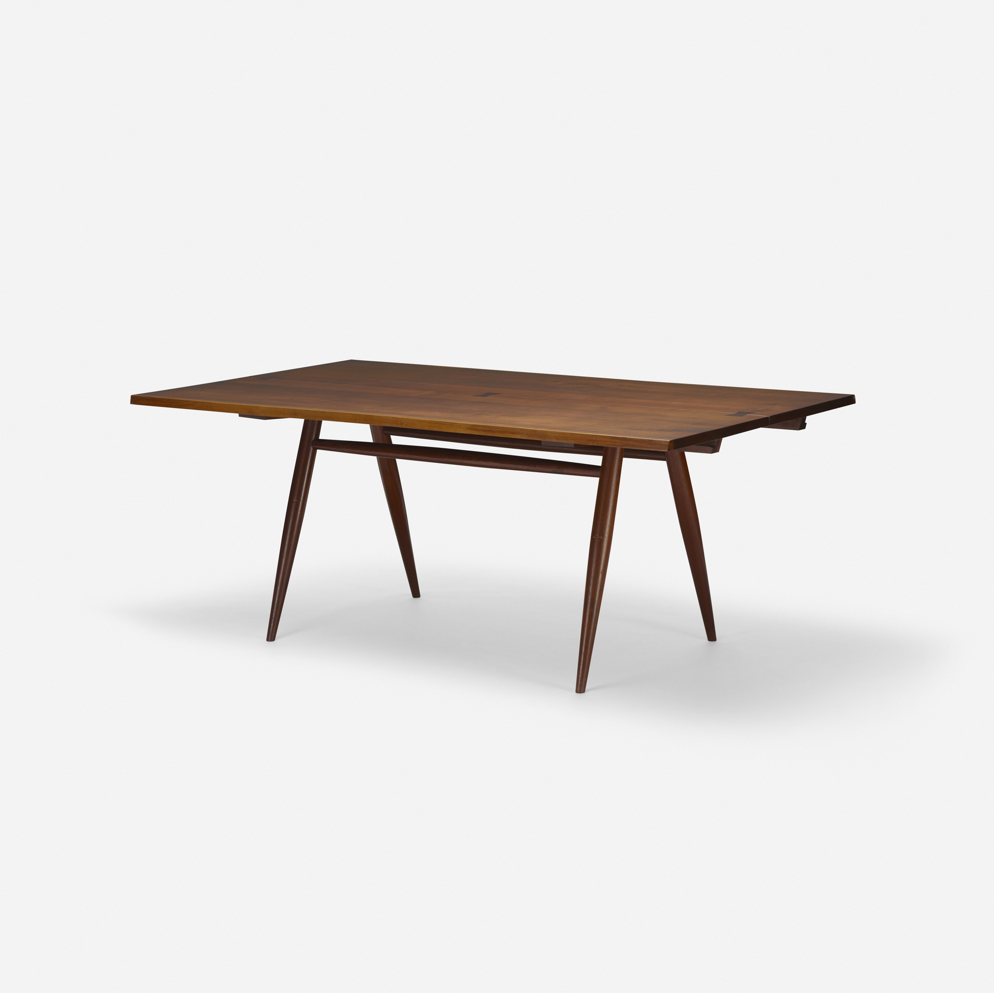133: George Nakashima / Turned leg dining table (2 of 3)