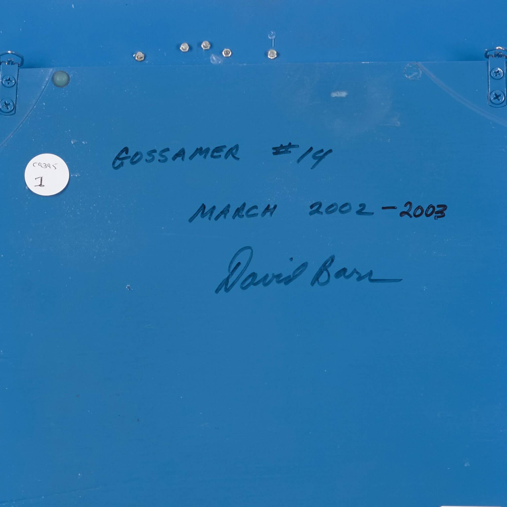 133: David Barr / Gossamer No. 14 (3 of 3)
