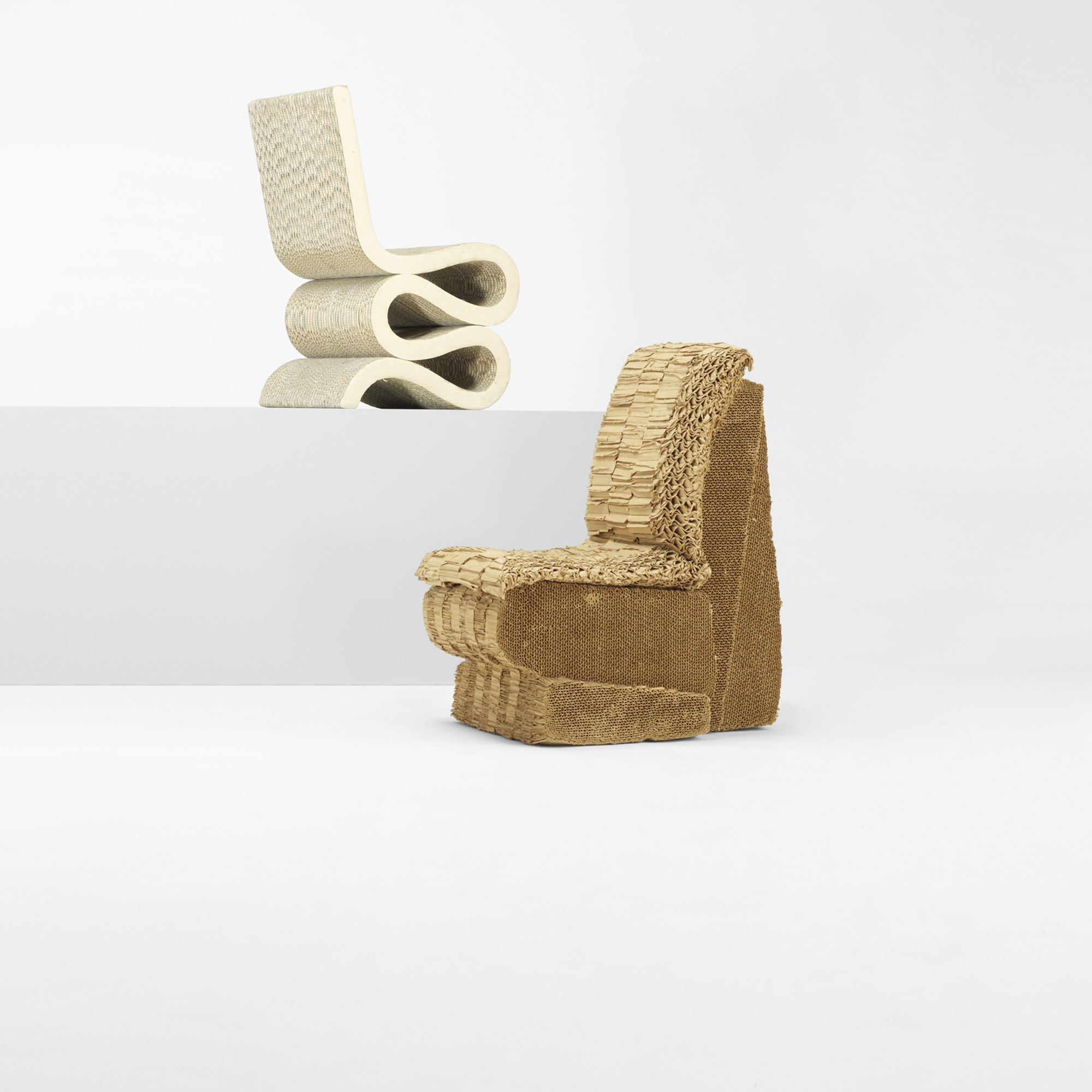 Home Designs October 2012: 133: FRANK GEHRY, Sitting Beaver Chair
