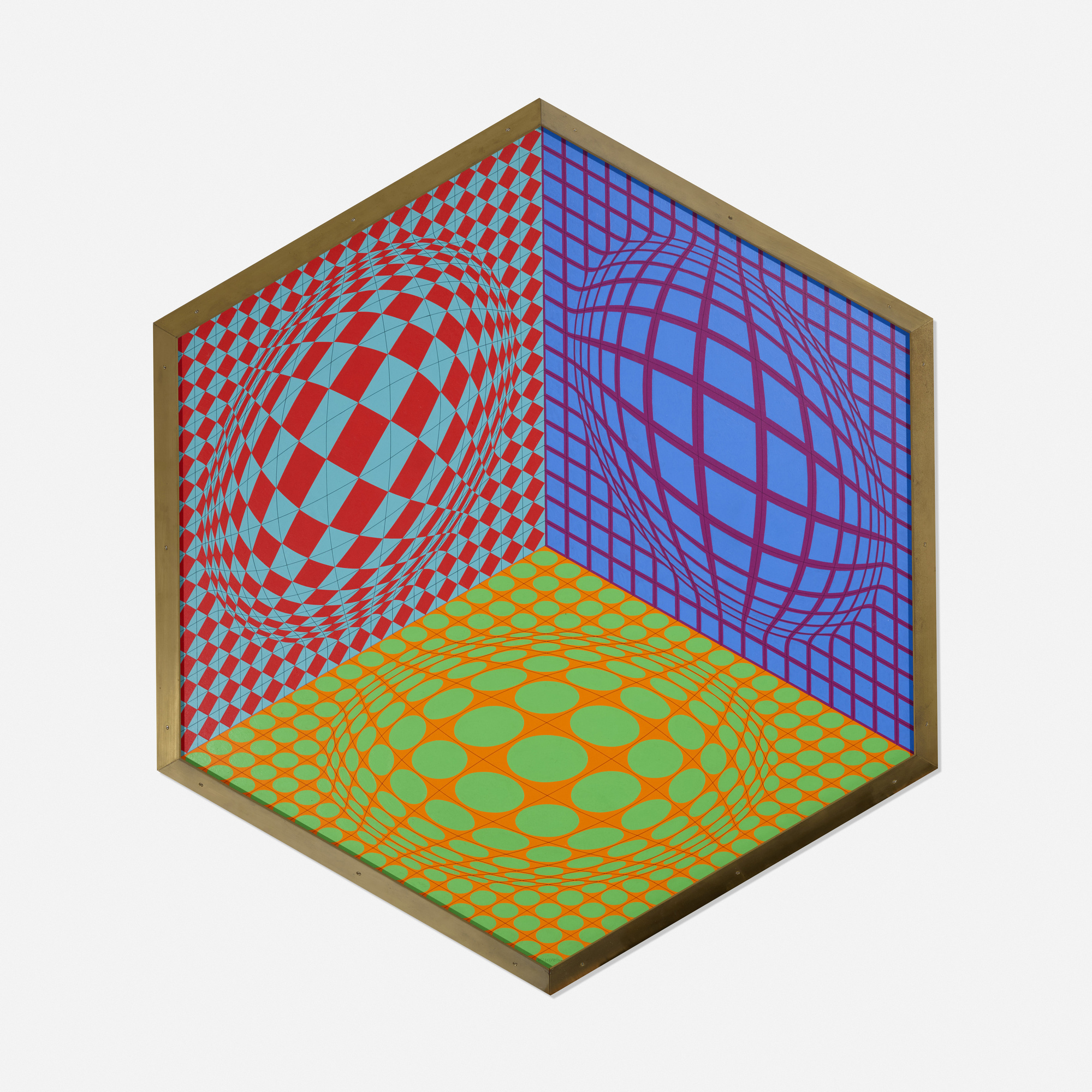134: Victor Vasarely / Tri-Dagg (1 of 2)
