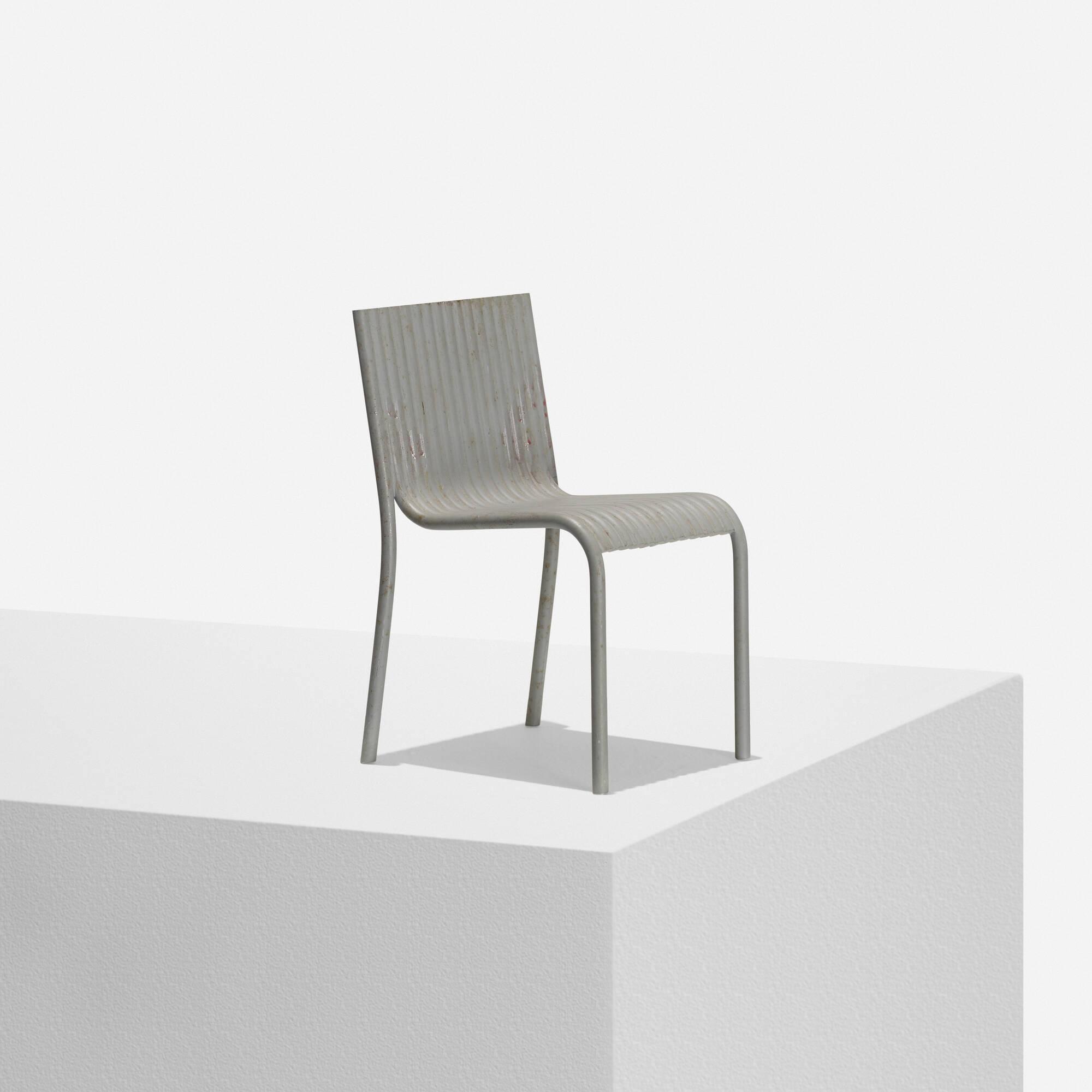 134: Richard Schultz / Model For Tubular Chair (1 Of 1)
