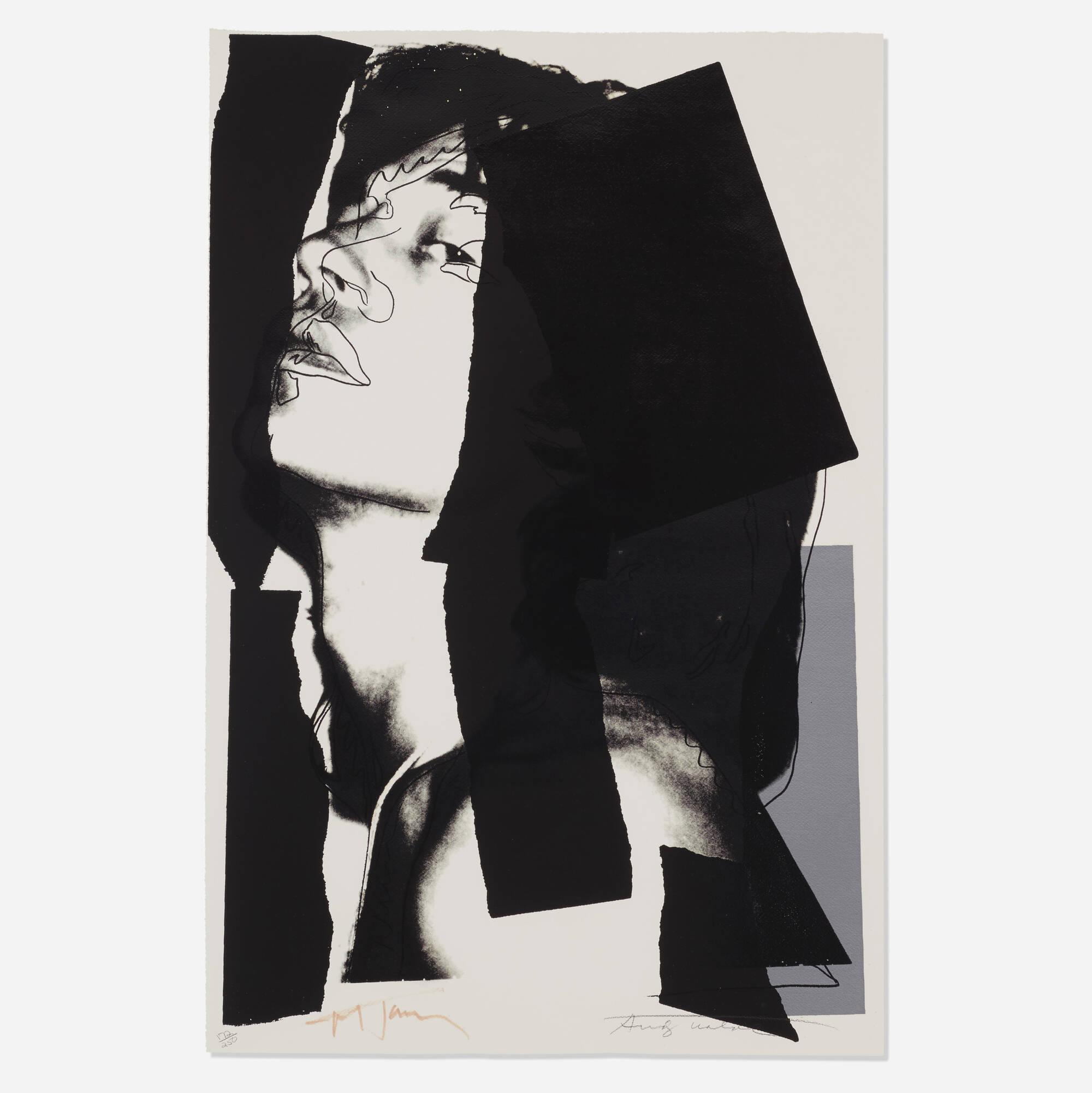 135: Andy Warhol / Mick Jagger (1 of 1)