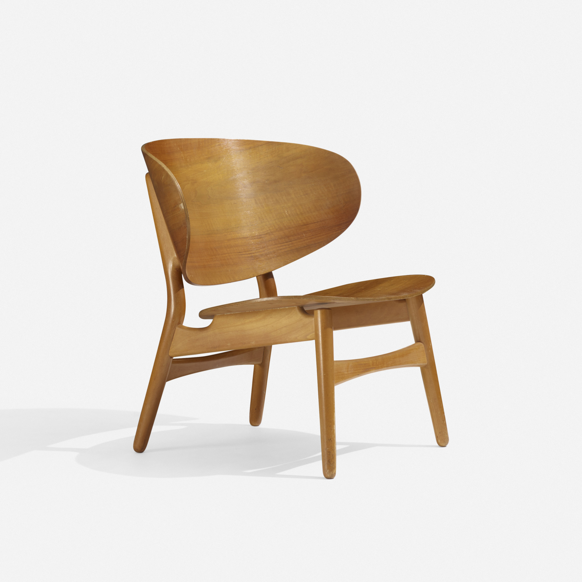Beau 135: Hans J. Wegner / Shell Chair (1 Of 3)