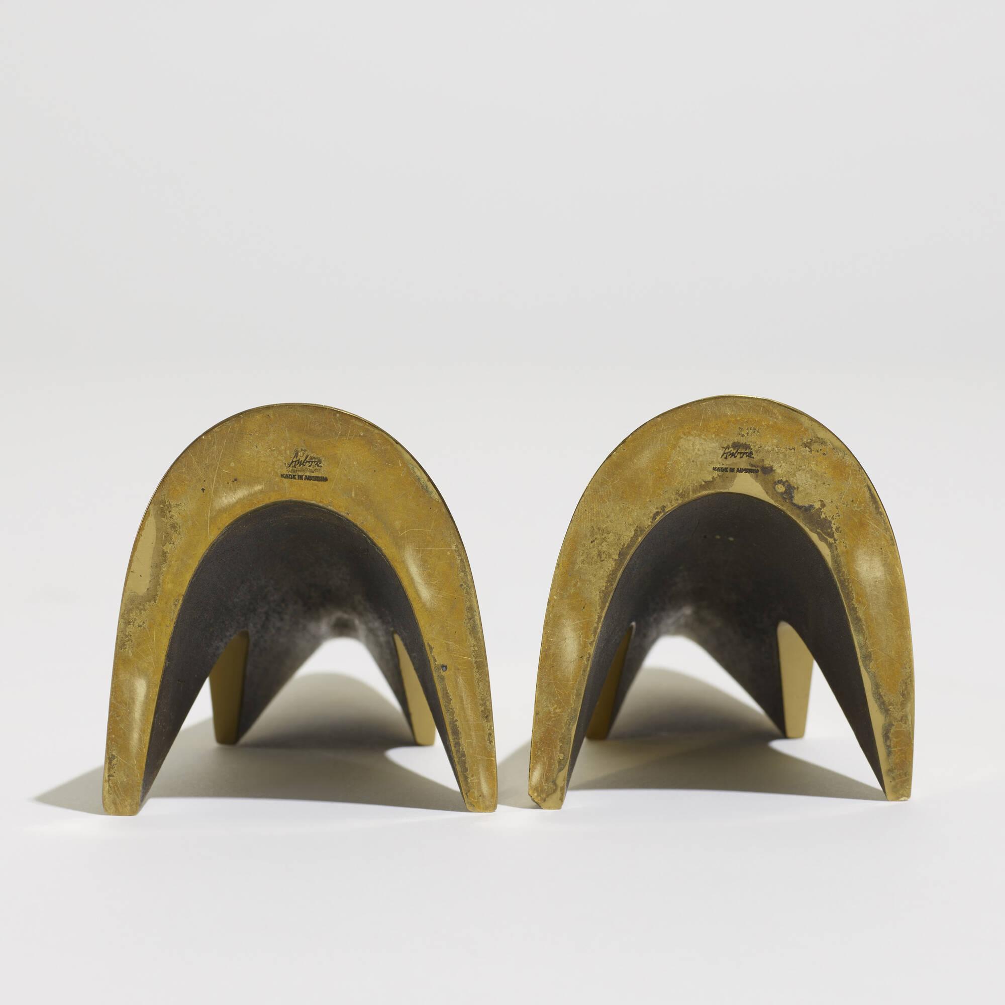 135: Carl Auböck II / bookends model 4099, pair (3 of 3)