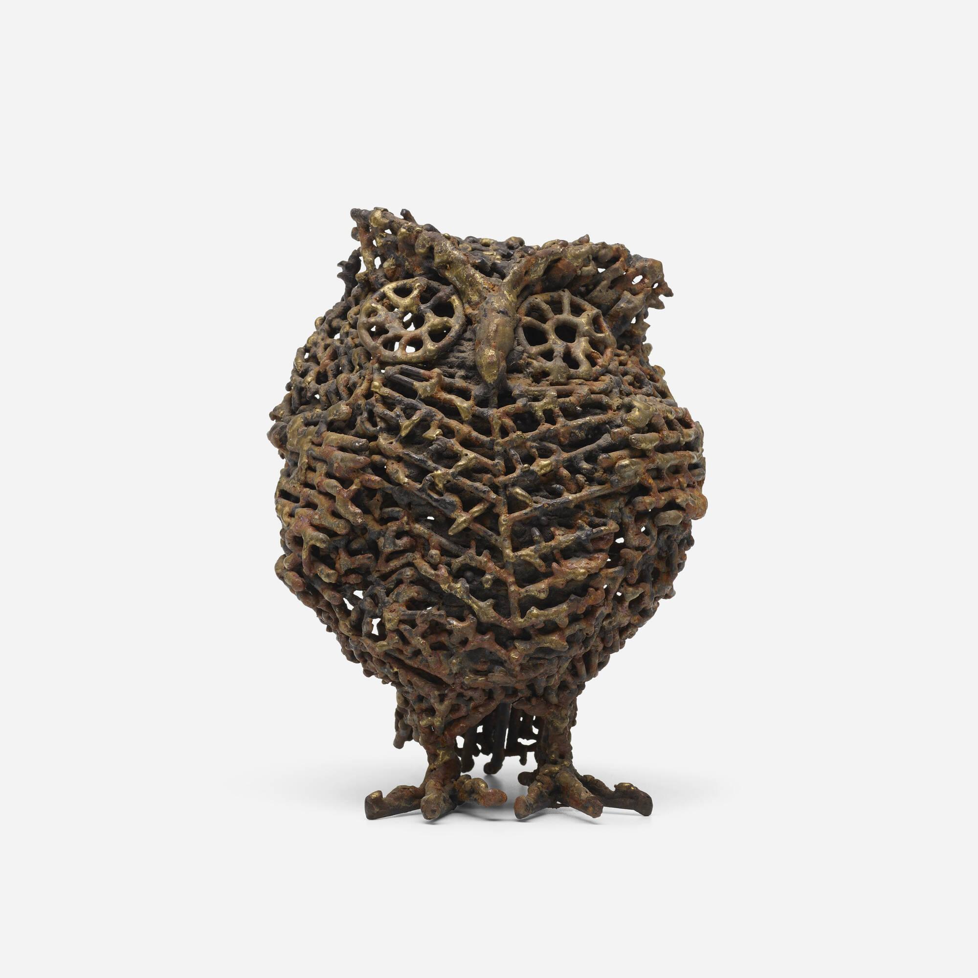 136: Folk Art / owl (1 of 3)