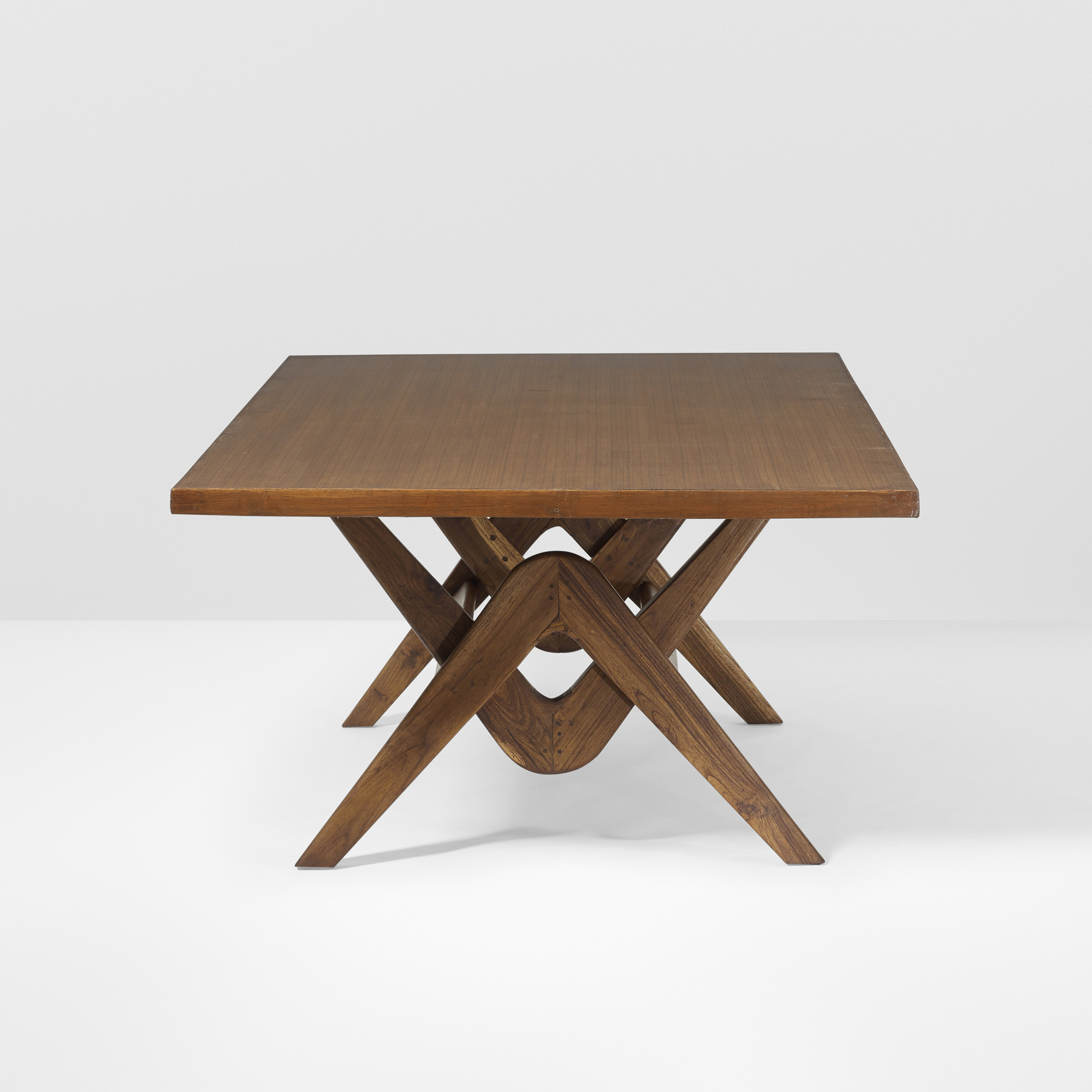 ... 136: Le Corbusier And Pierre Jeanneret / Important Committee Conference  Table From Chandigarh (2