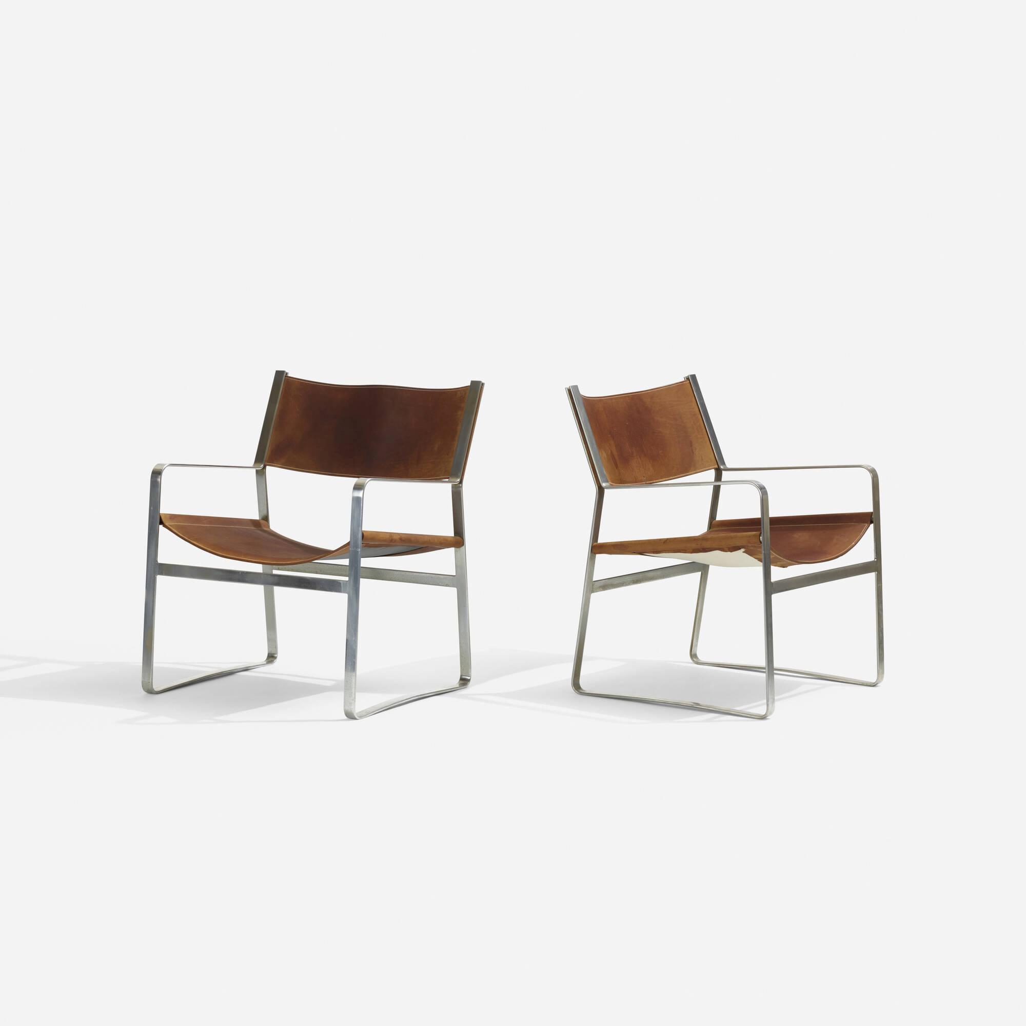 136: Hans J. Wegner / armchairs model JH 812, pair (2 of 2)