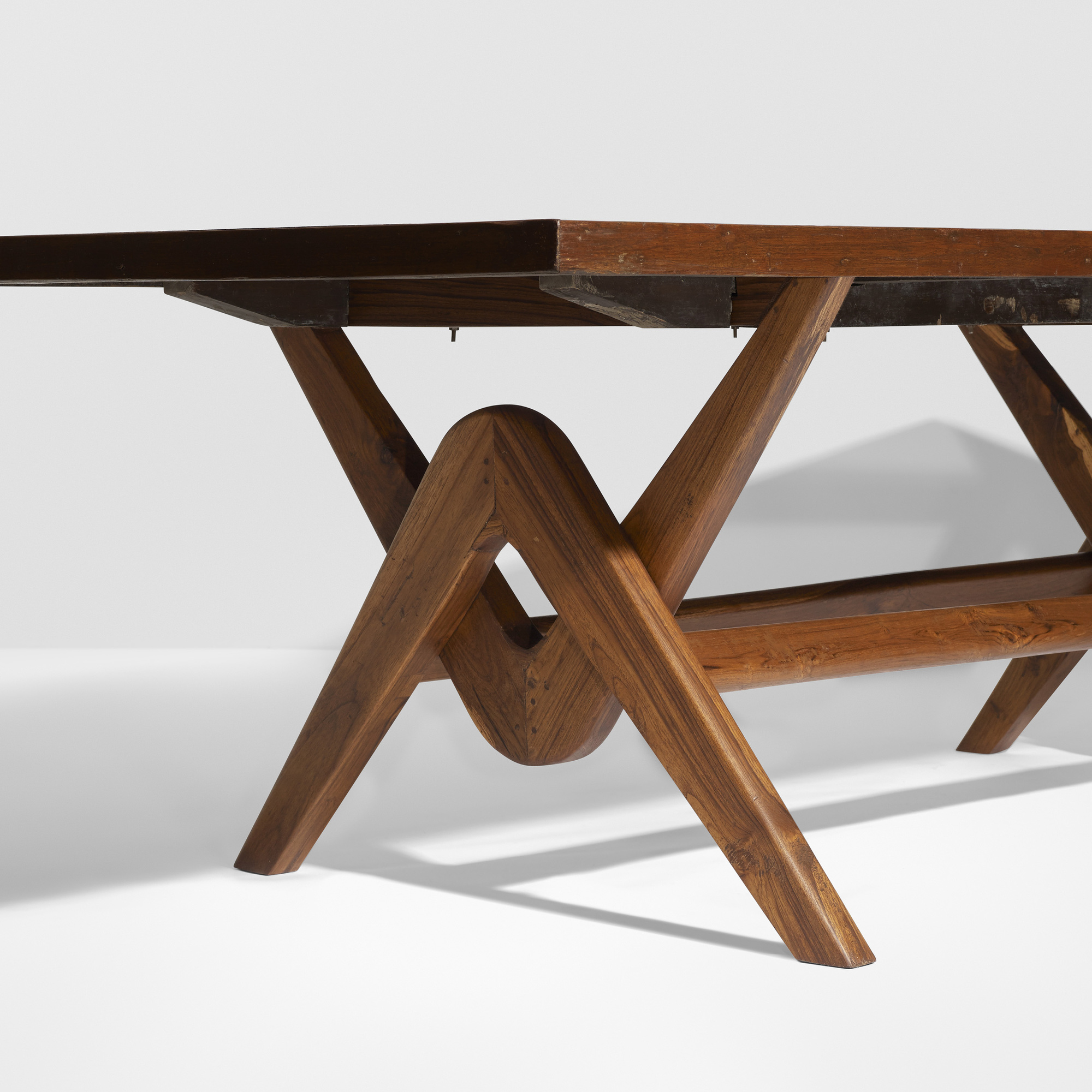 ... 136: Le Corbusier And Pierre Jeanneret / Important Committee Conference  Table From Chandigarh (3